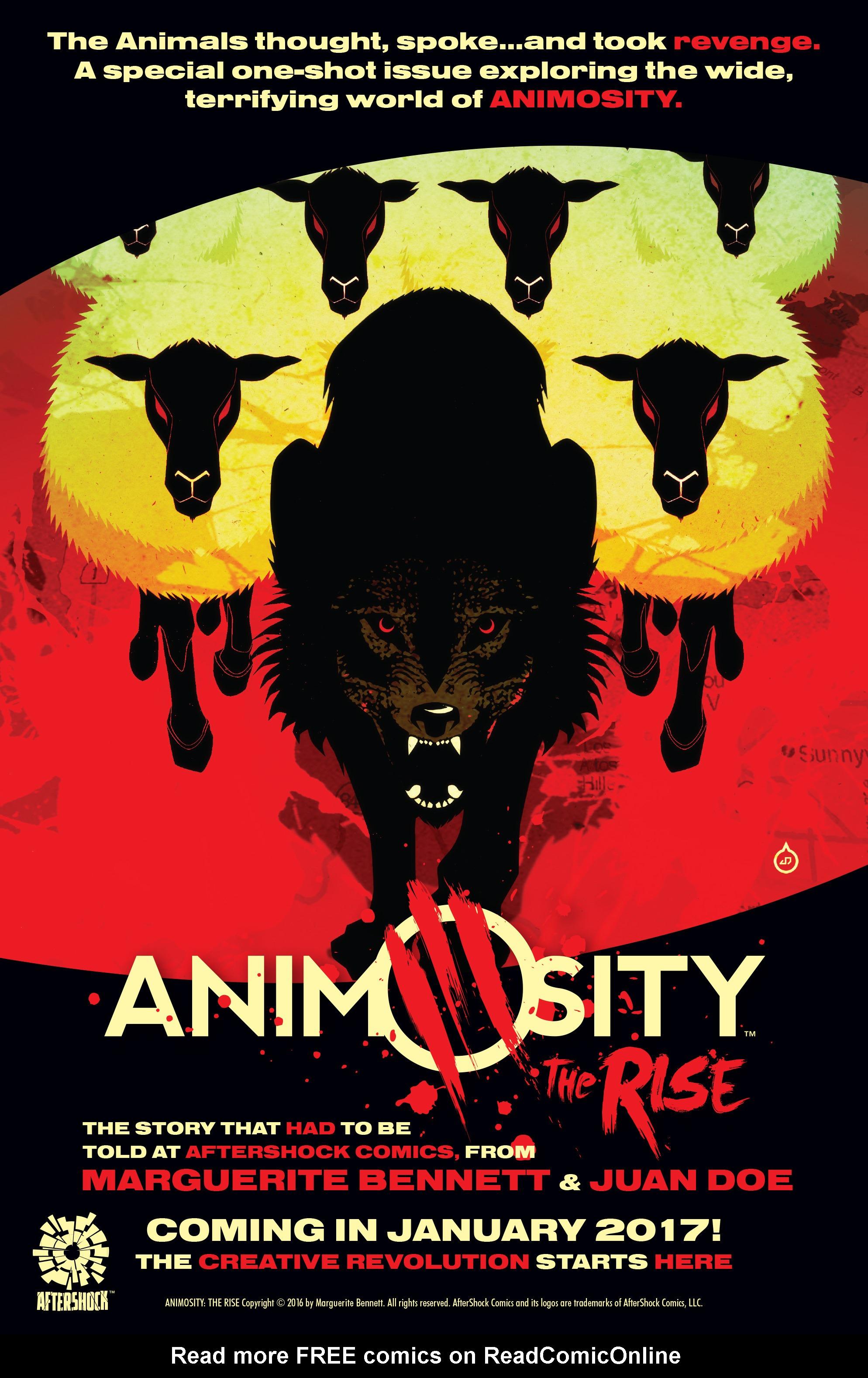 Read online Animosity comic -  Issue #4 - 30