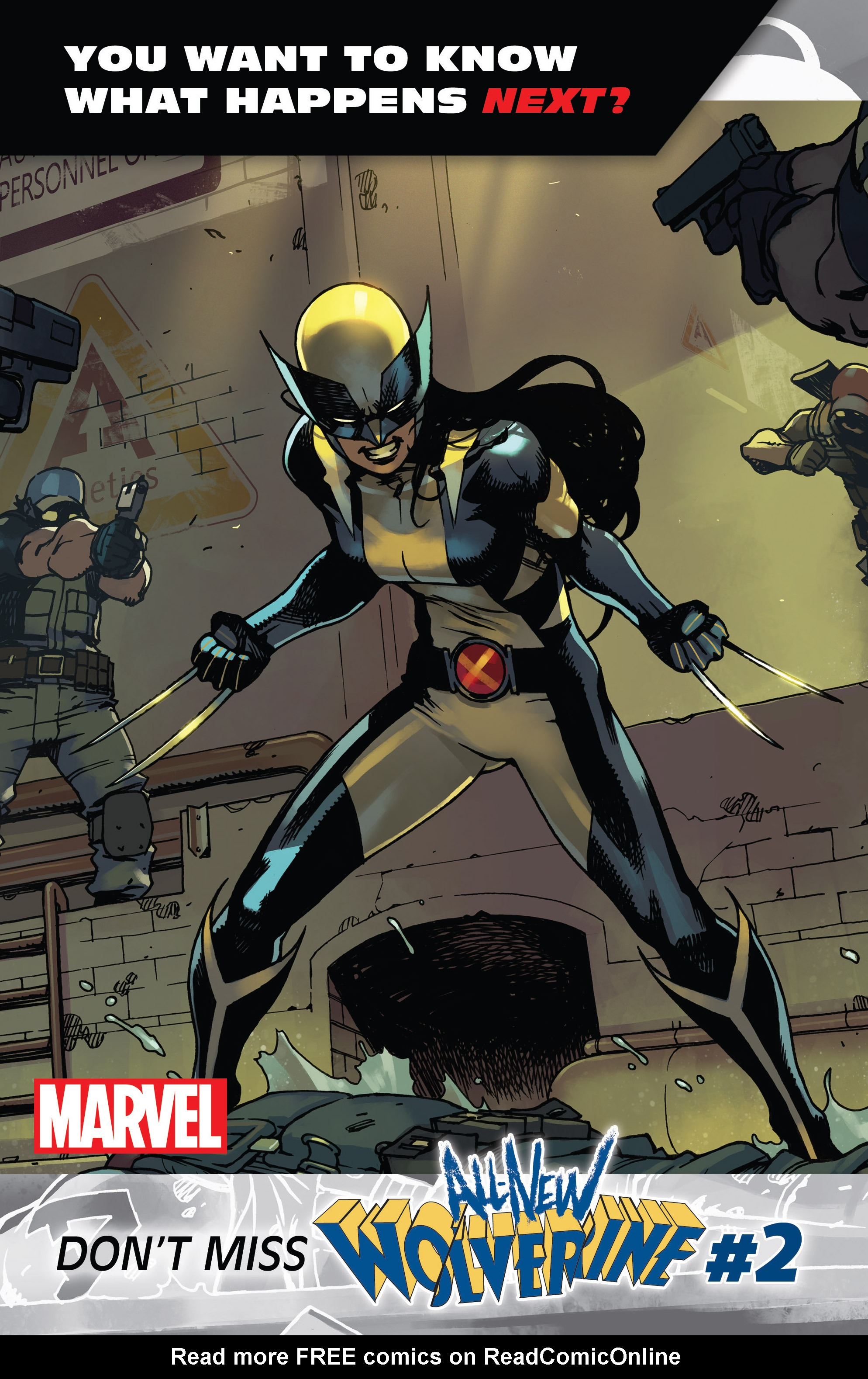Read online All-New Wolverine (2016) comic -  Issue #1 - 32