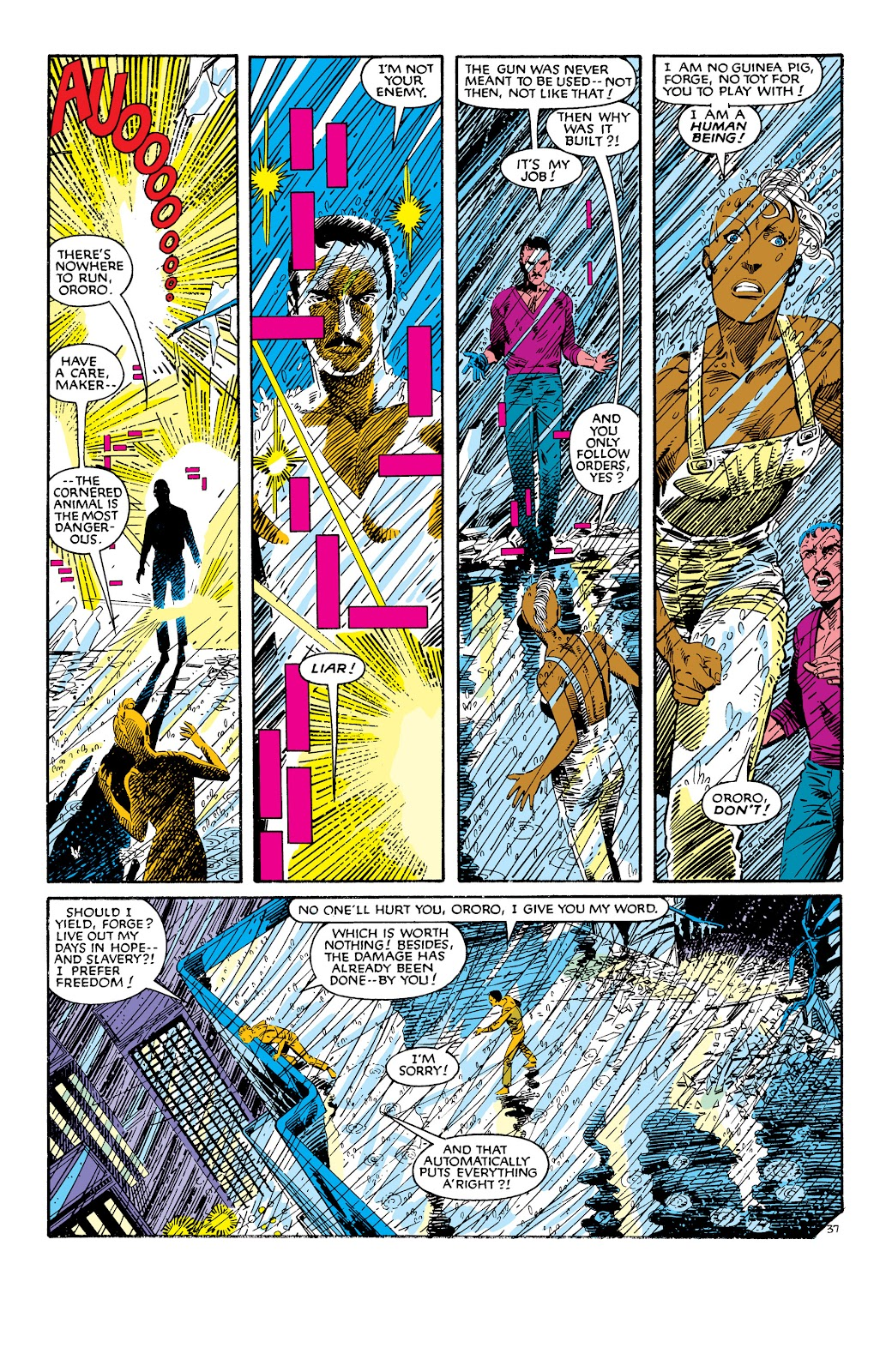 Uncanny X-Men (1963) issue 186 - Page 38
