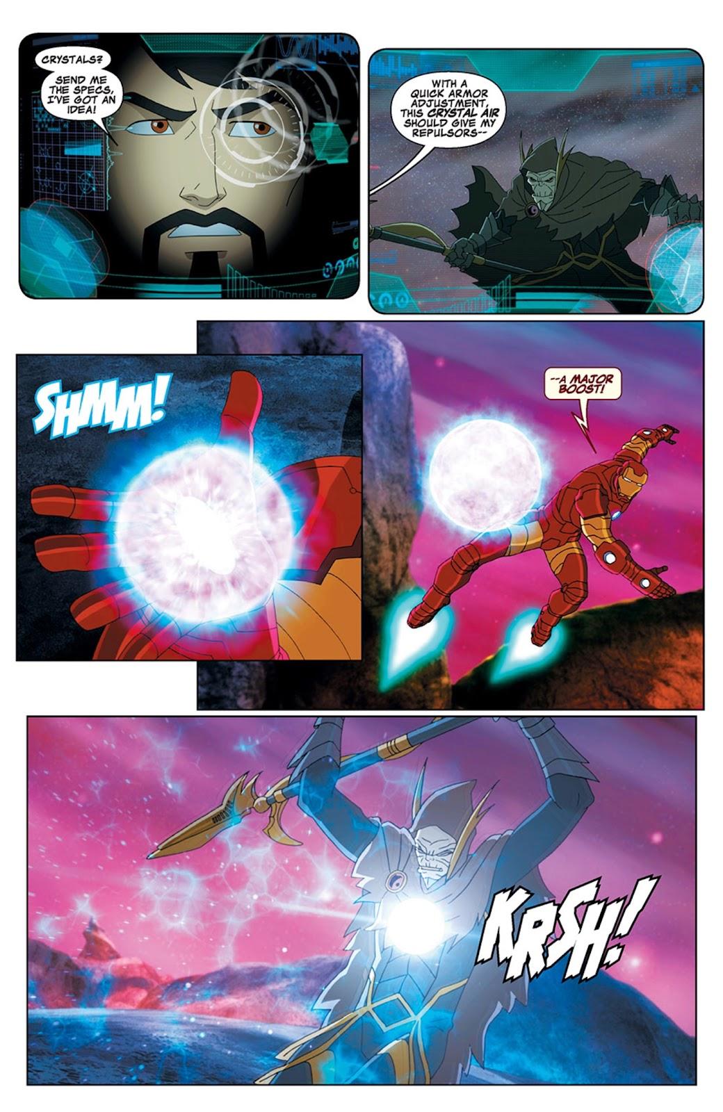 Read online Marvel Universe Avengers Assemble Season 2 comic -  Issue #15 - 17