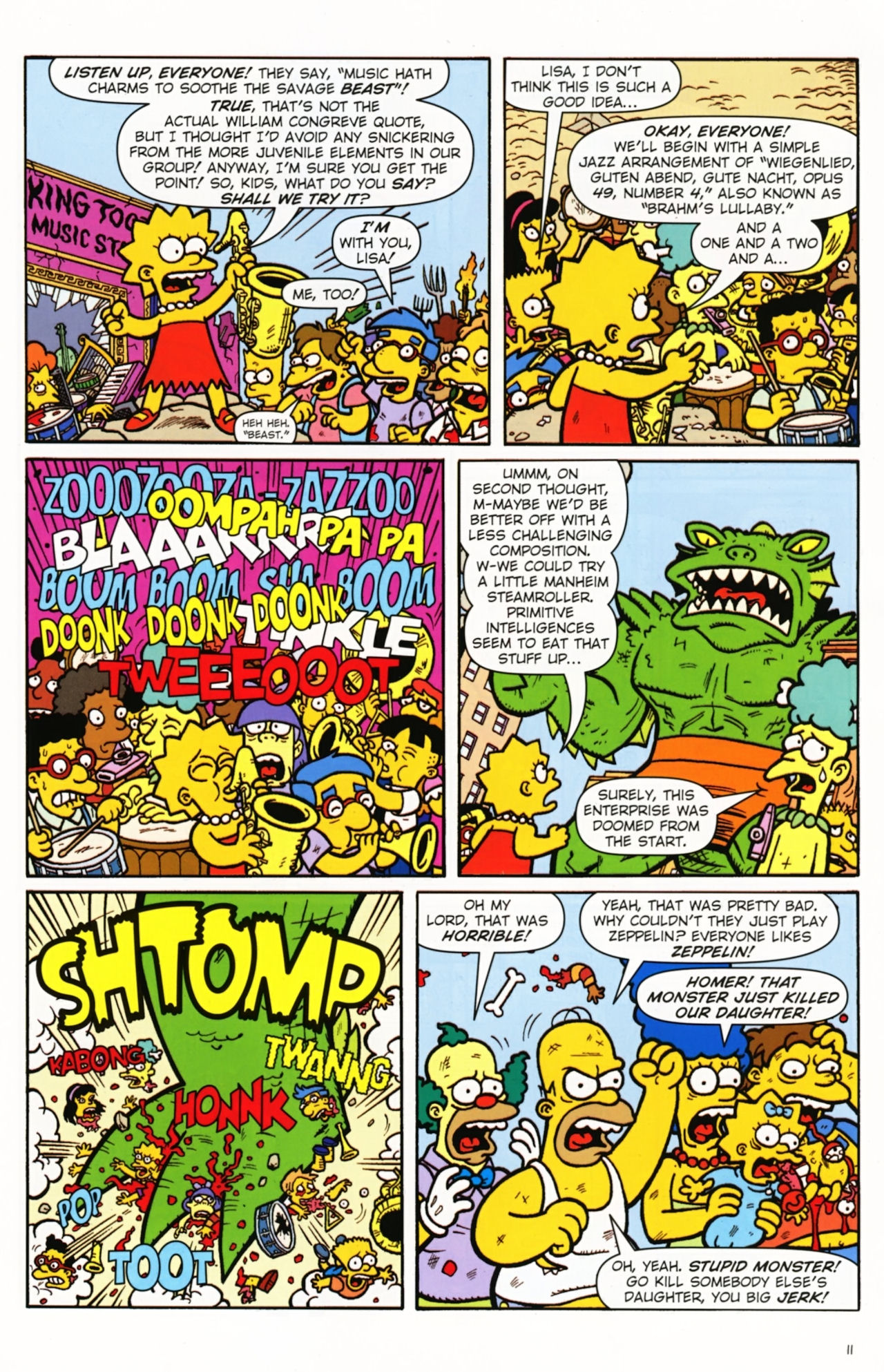 Read online Treehouse of Horror comic -  Issue #16 - 14