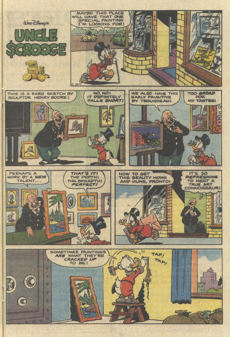 Read online Uncle Scrooge (1953) comic -  Issue #239 - 21