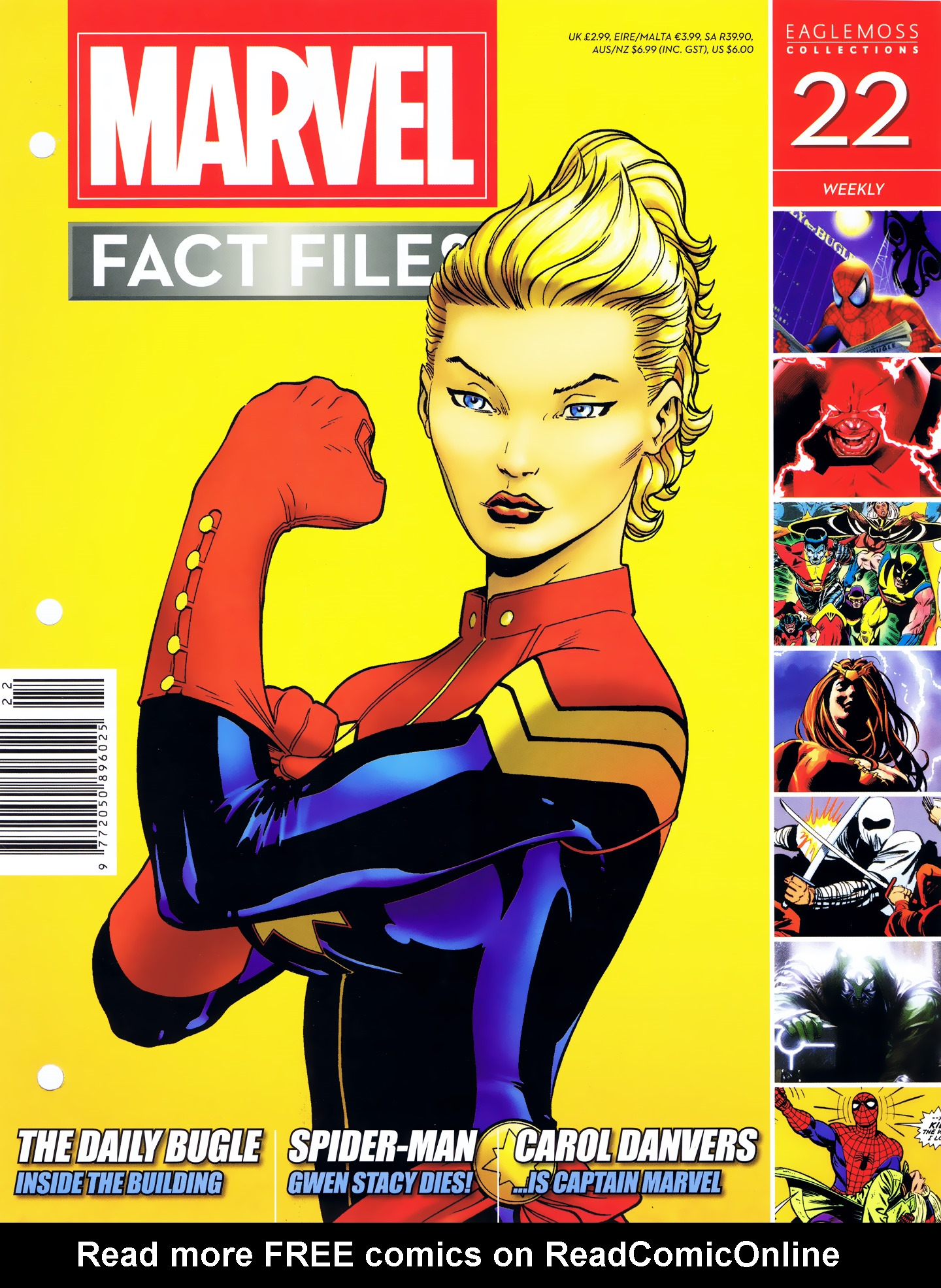 Marvel Fact Files 22 Page 1
