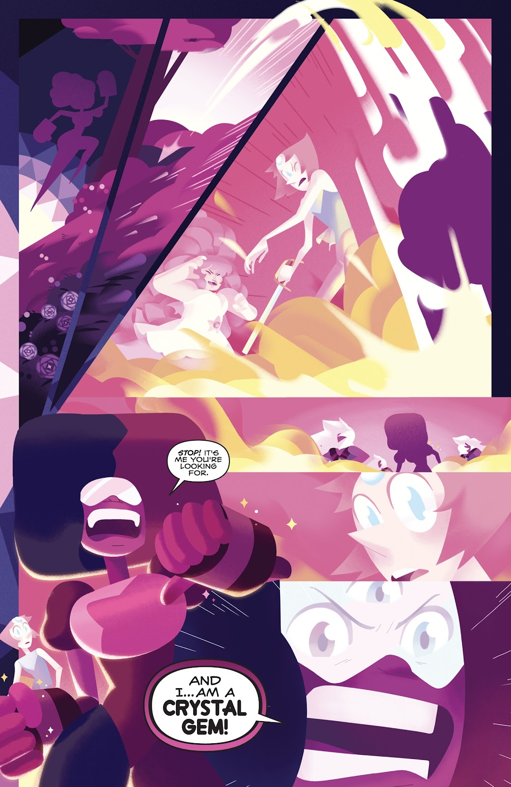 Read online Steven Universe: Fusion Frenzy comic -  Issue # Full - 16