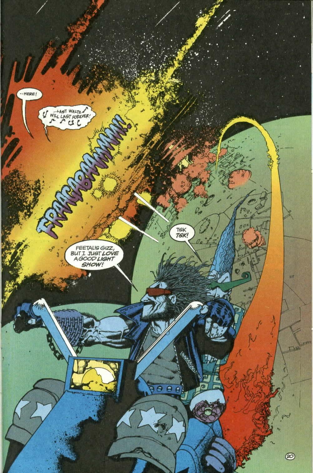 Read online Lobo (1990) comic -  Issue #4 - 20