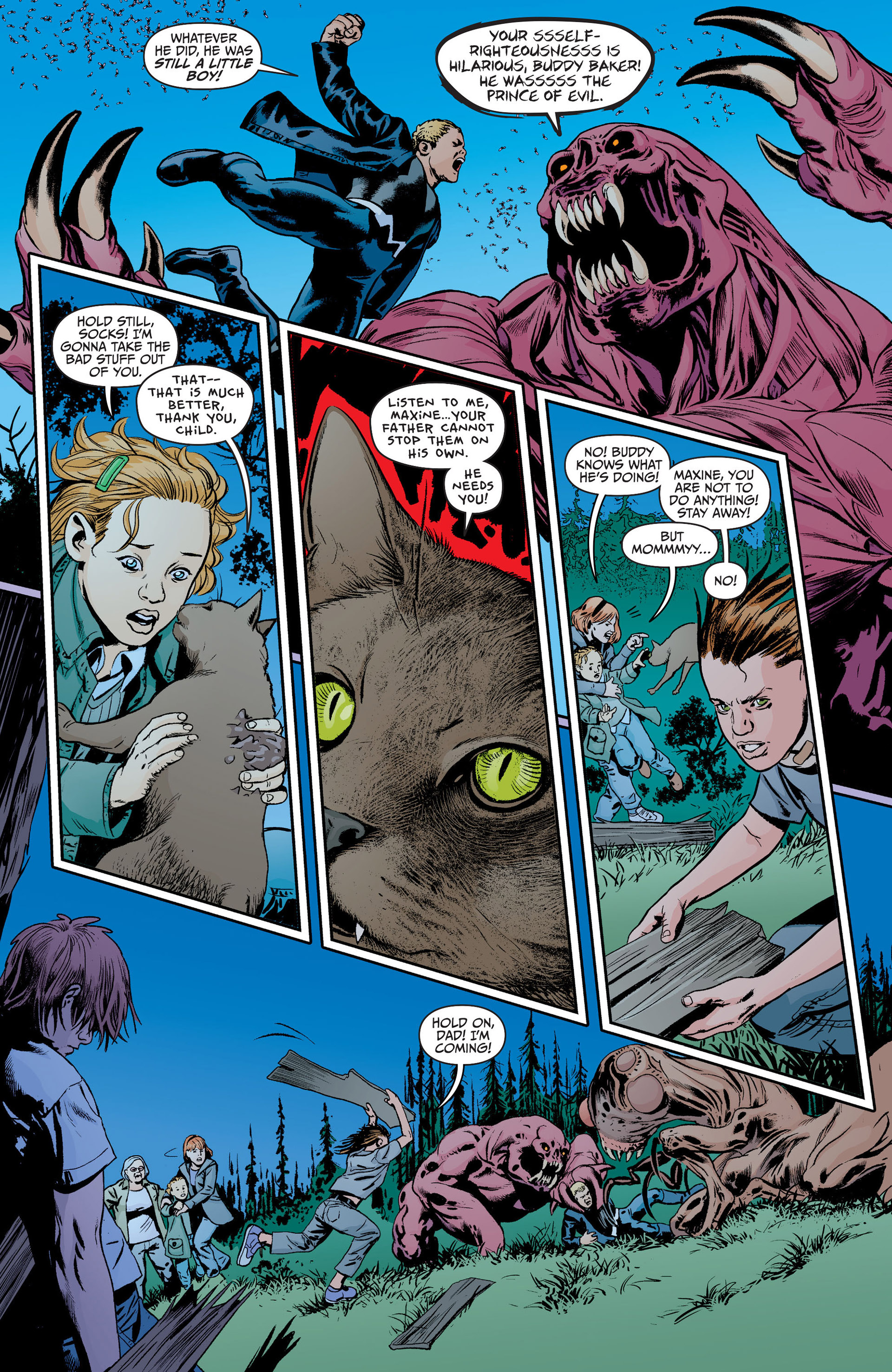 Read online Animal Man (2011) comic -  Issue #18 - 12