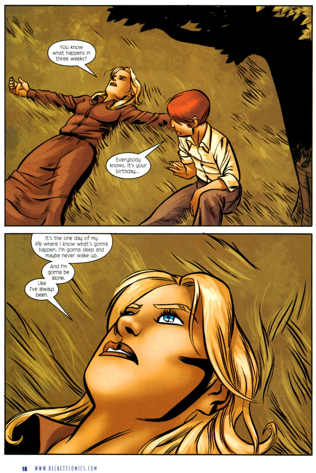 Read online The Ballad of Sleeping Beauty comic -  Issue #4 - 20