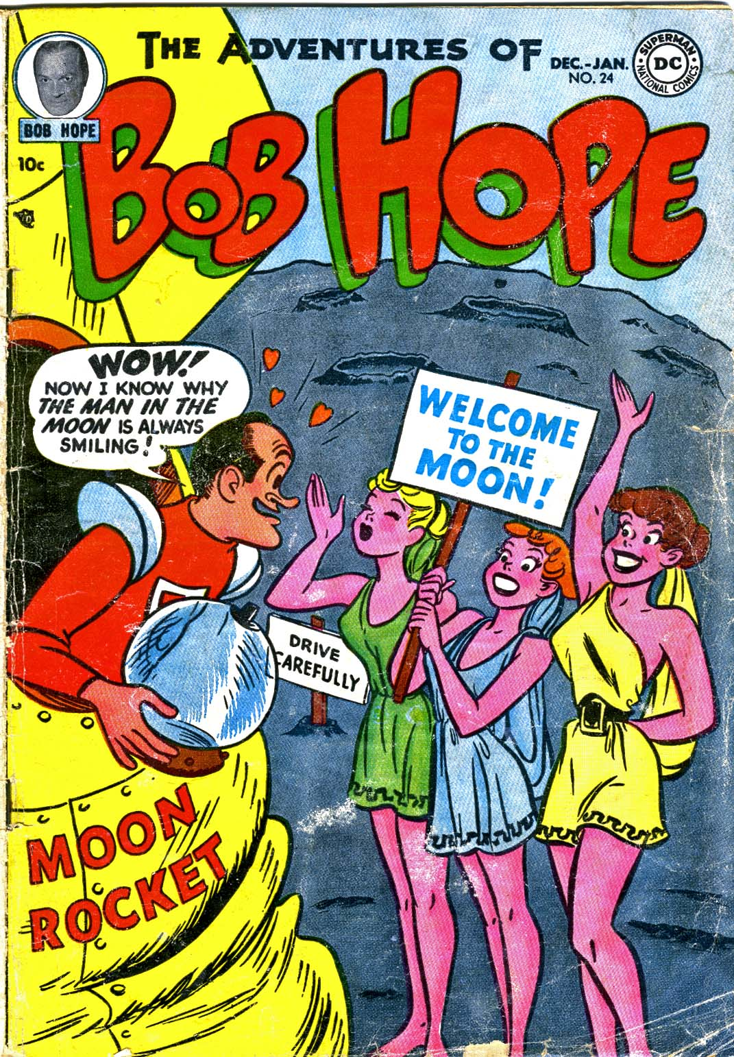 The Adventures of Bob Hope issue 24 - Page 1