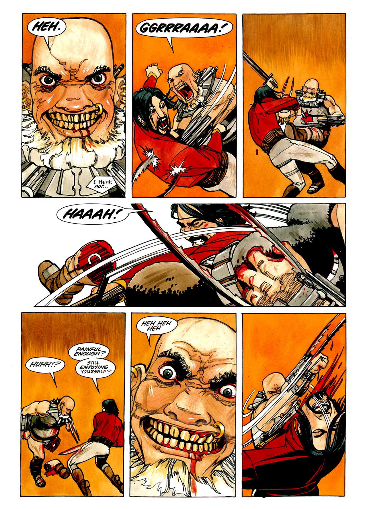 Read online Nikolai Dante comic -  Issue # TPB 1 - 83