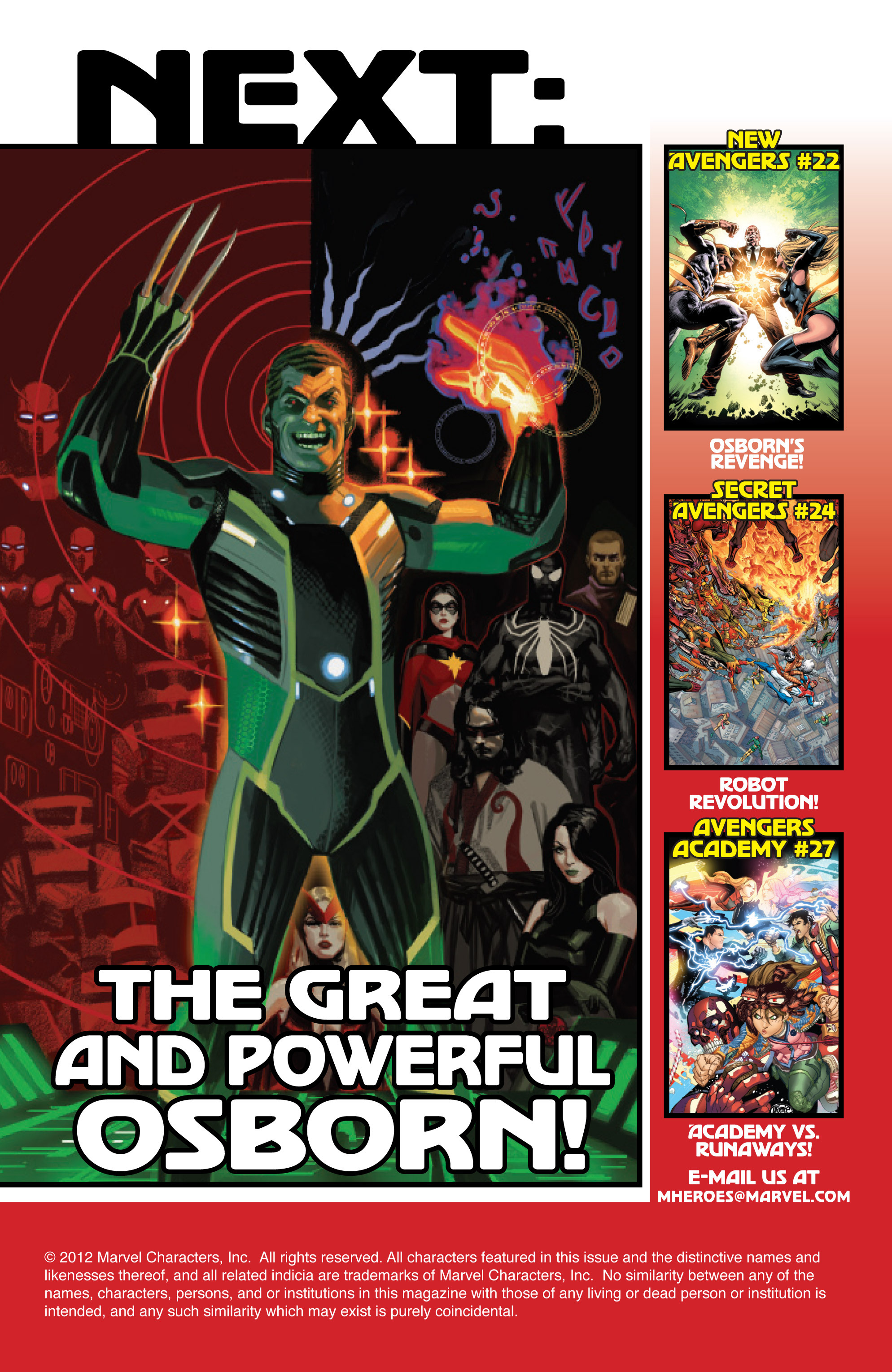 Read online Avengers (2010) comic -  Issue #23 - 20