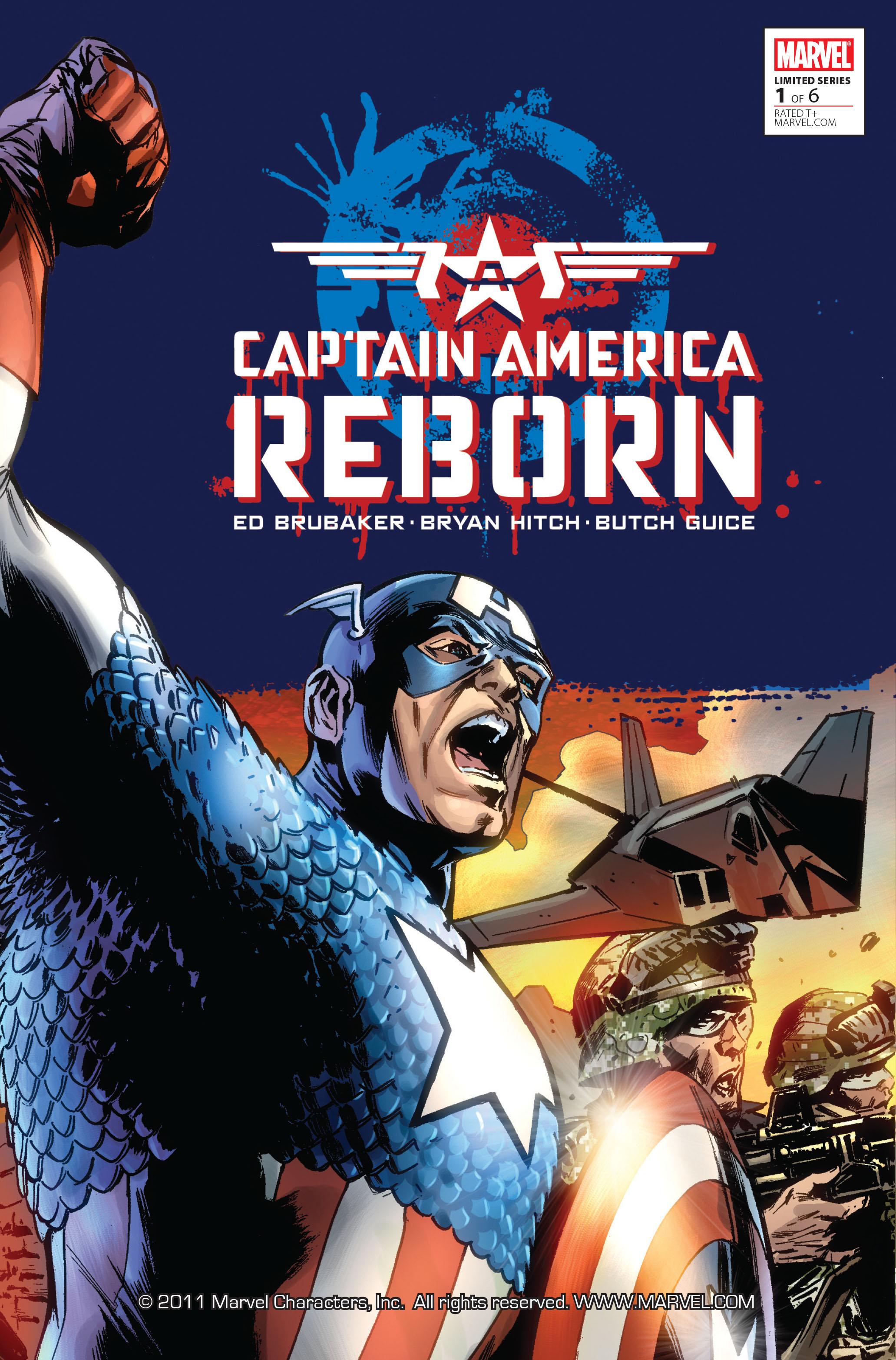 Captain America: Reborn 1 Page 1