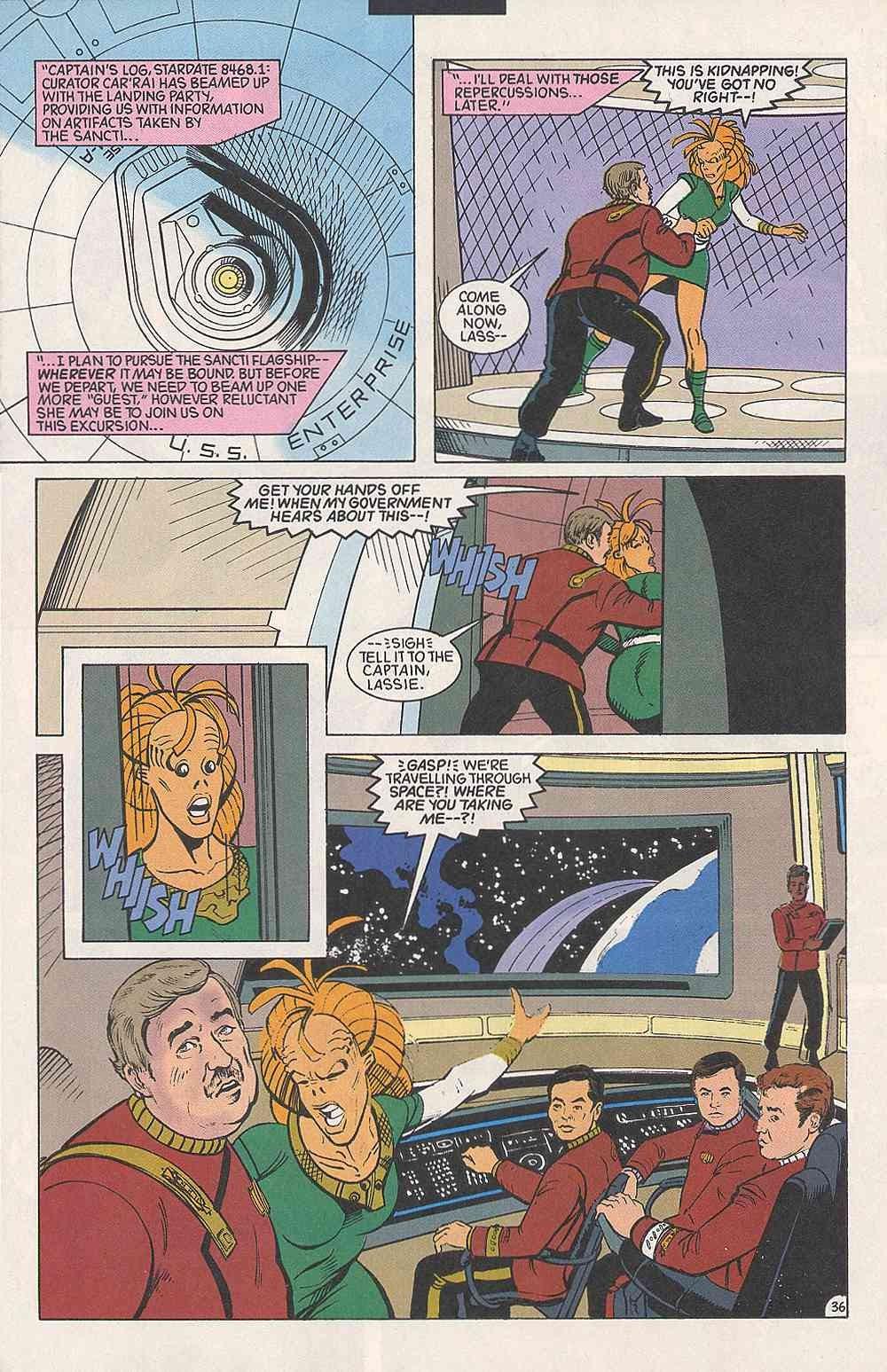 Read online Star Trek (1989) comic -  Issue # Annual 3 - 40