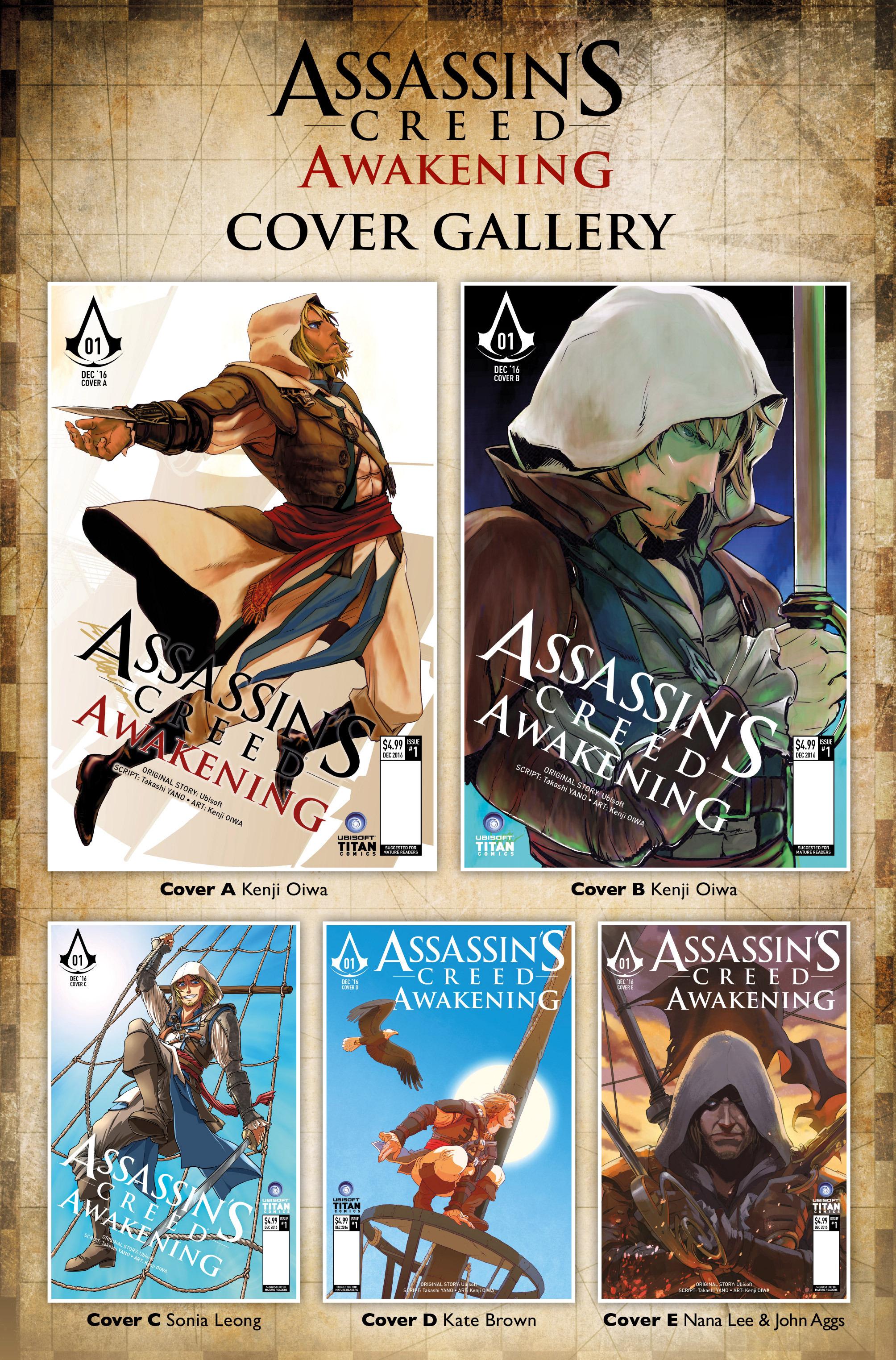 Read online Assassin's Creed: Awakening comic -  Issue #1 - 39