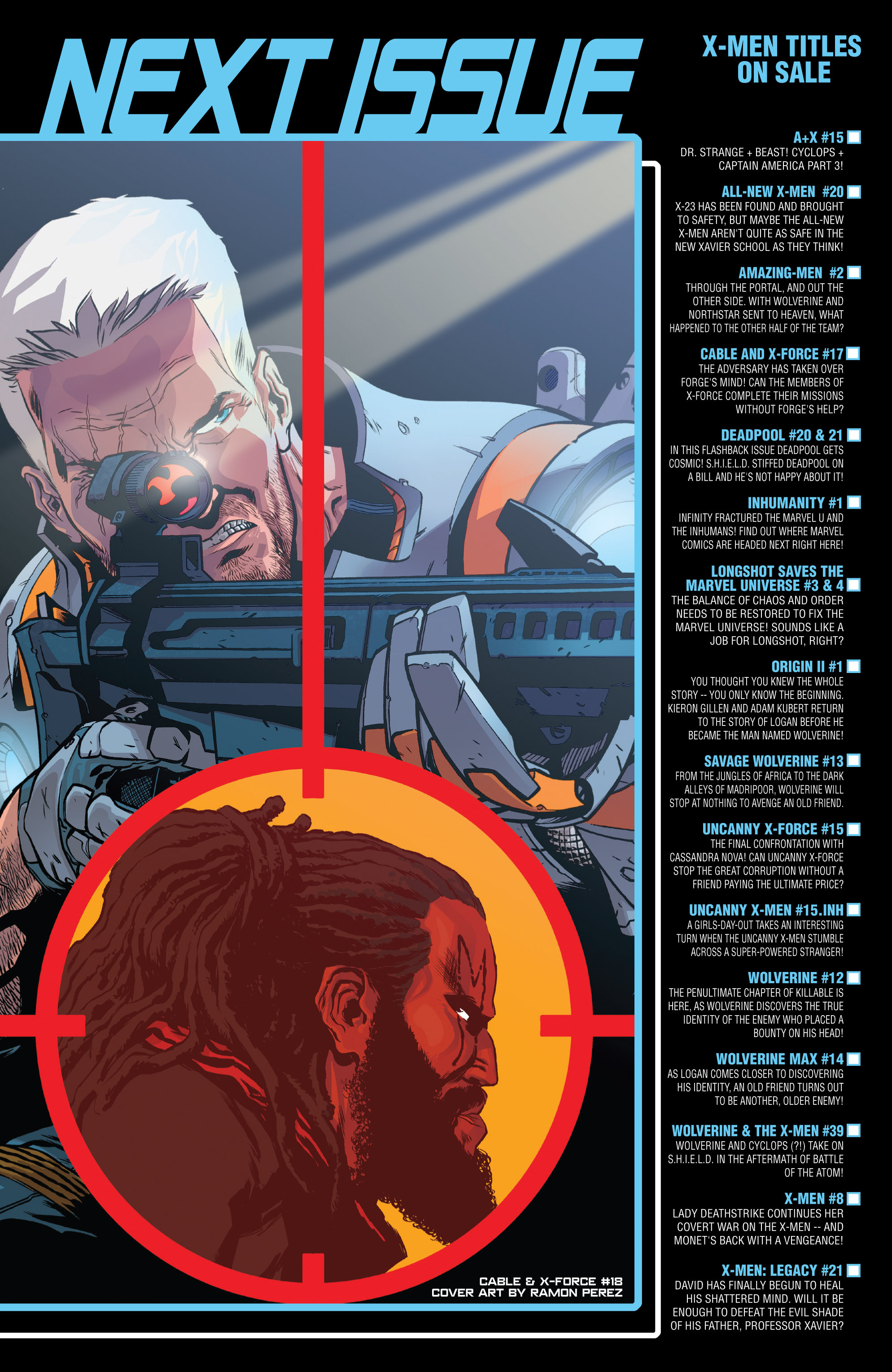 Read online Uncanny X-Force (2013) comic -  Issue #15 - 23