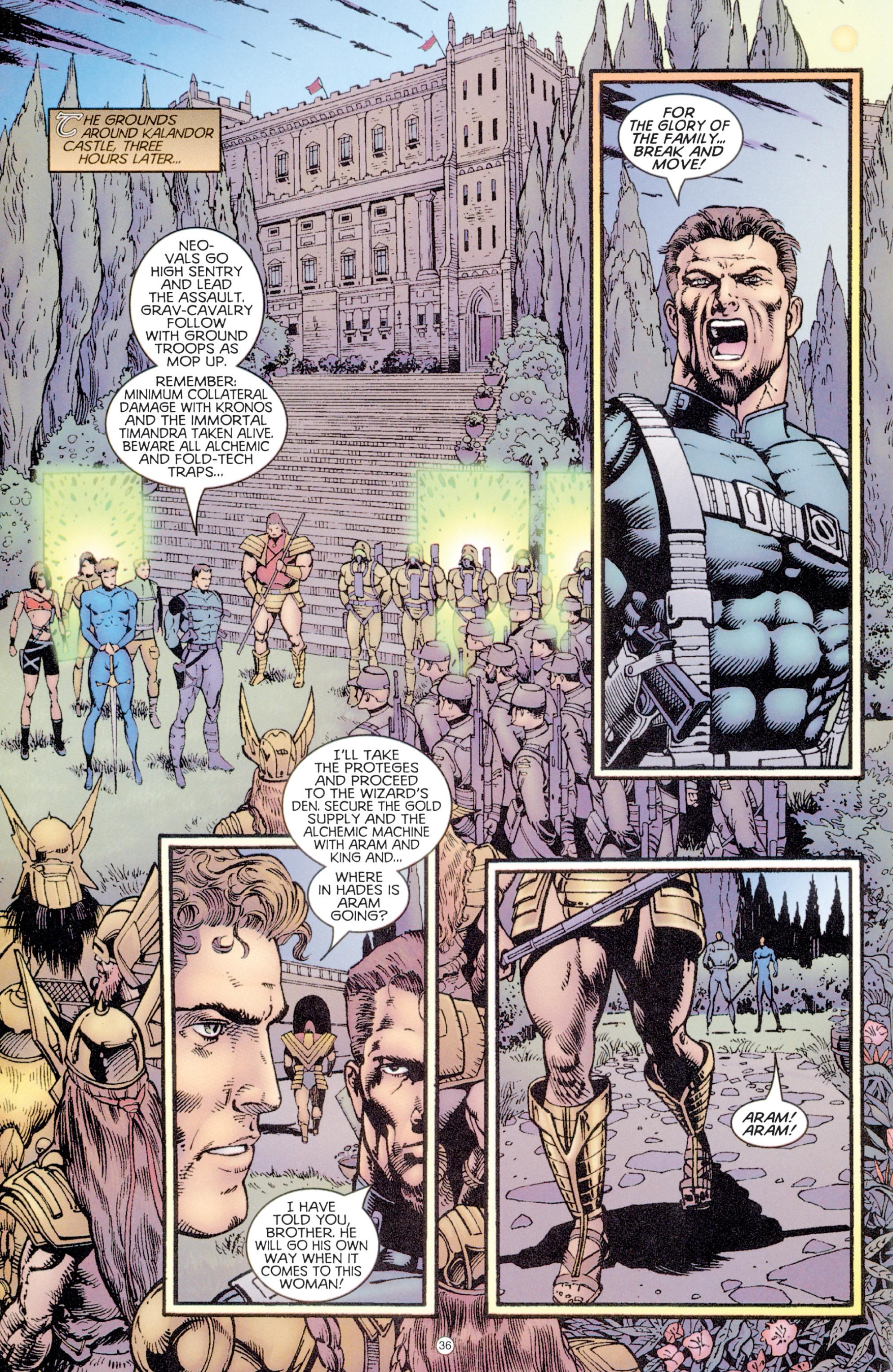 Read online Eternal Warriors comic -  Issue # Issue Digital Alchemy - 33
