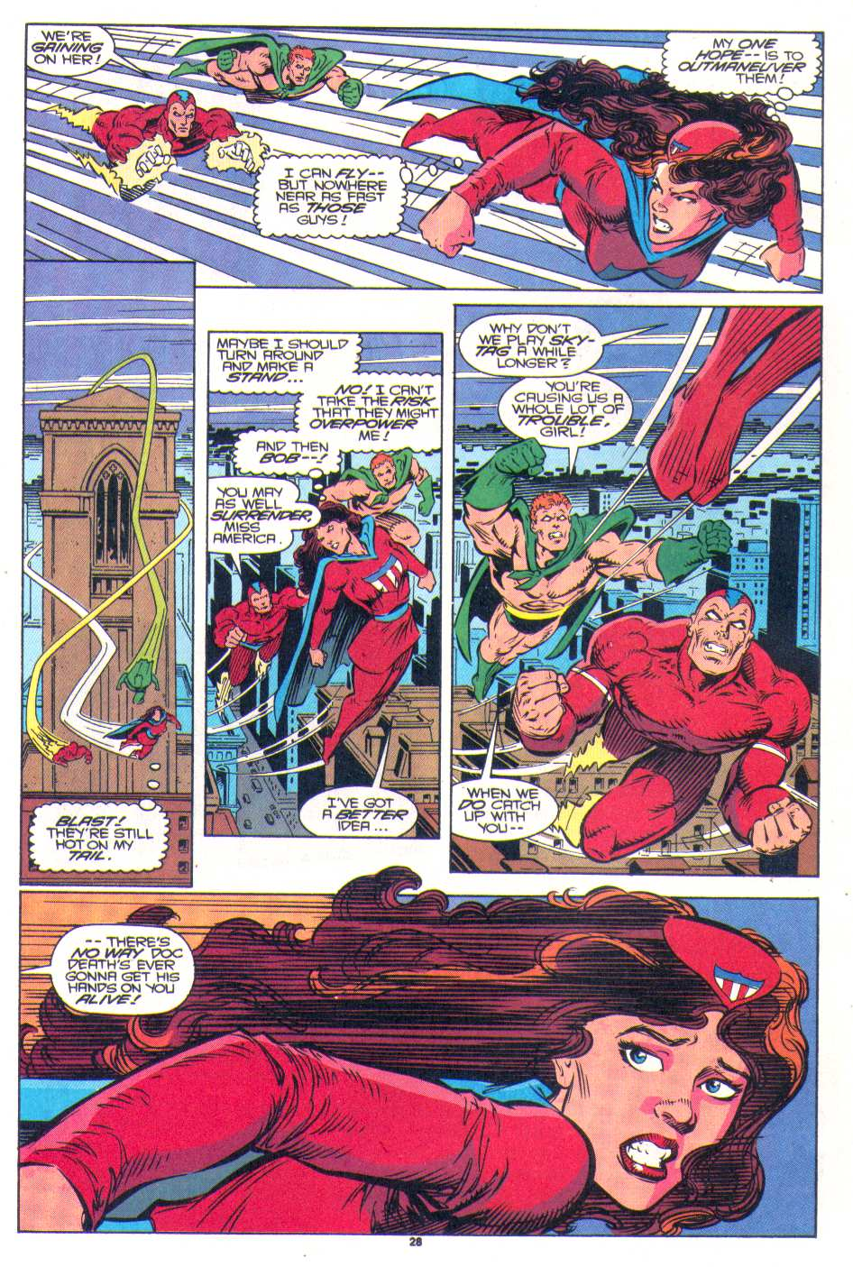 Read online The Invaders (1993) comic -  Issue #1 - 22