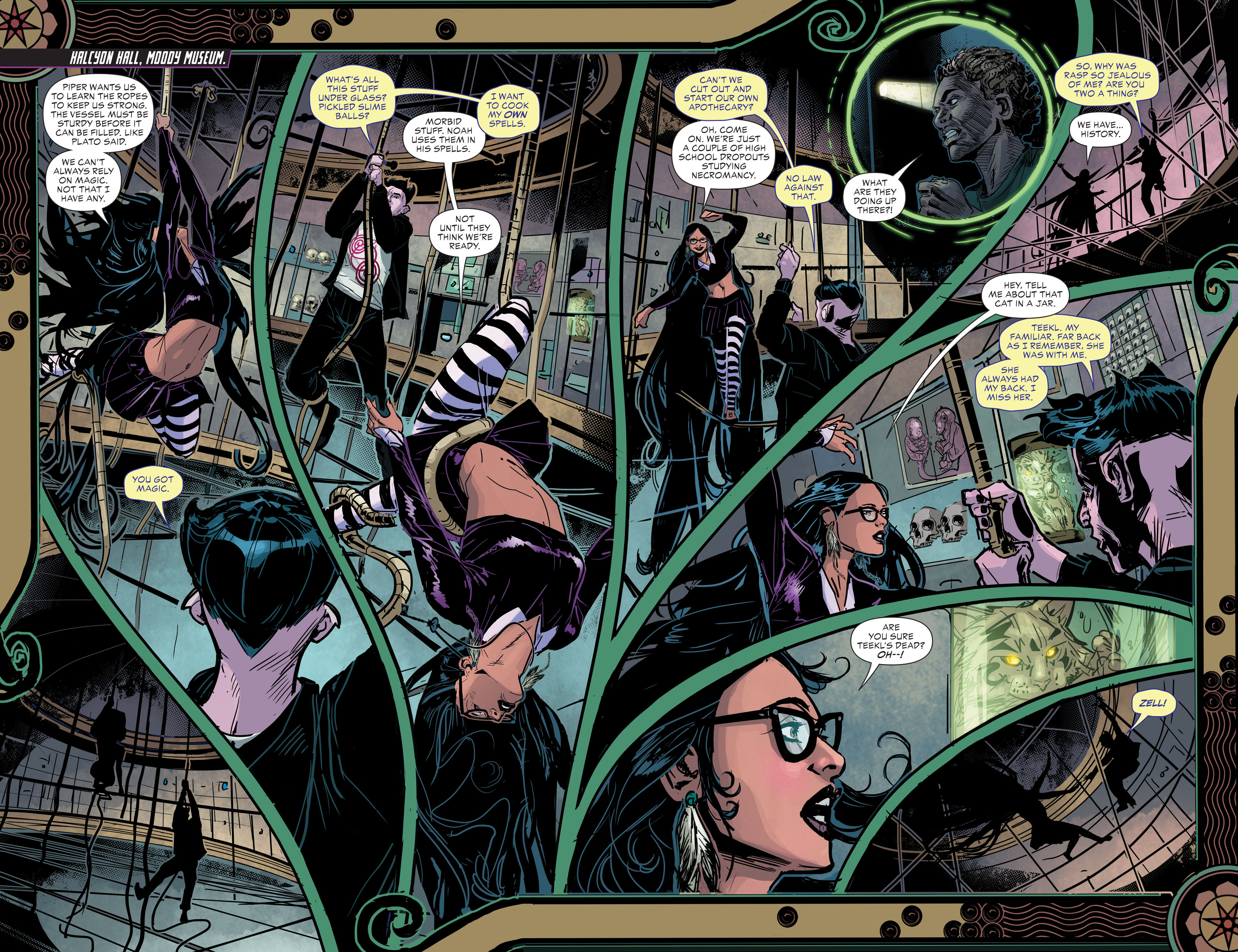 Read online Klarion comic -  Issue #2 - 12