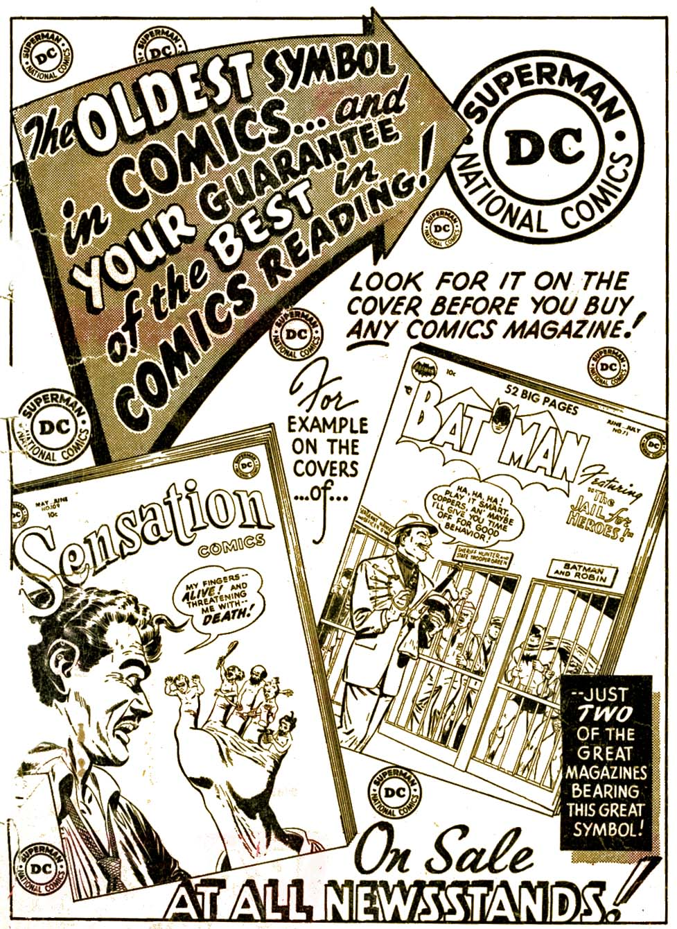 Read online Adventure Comics (1938) comic -  Issue #177 - 43