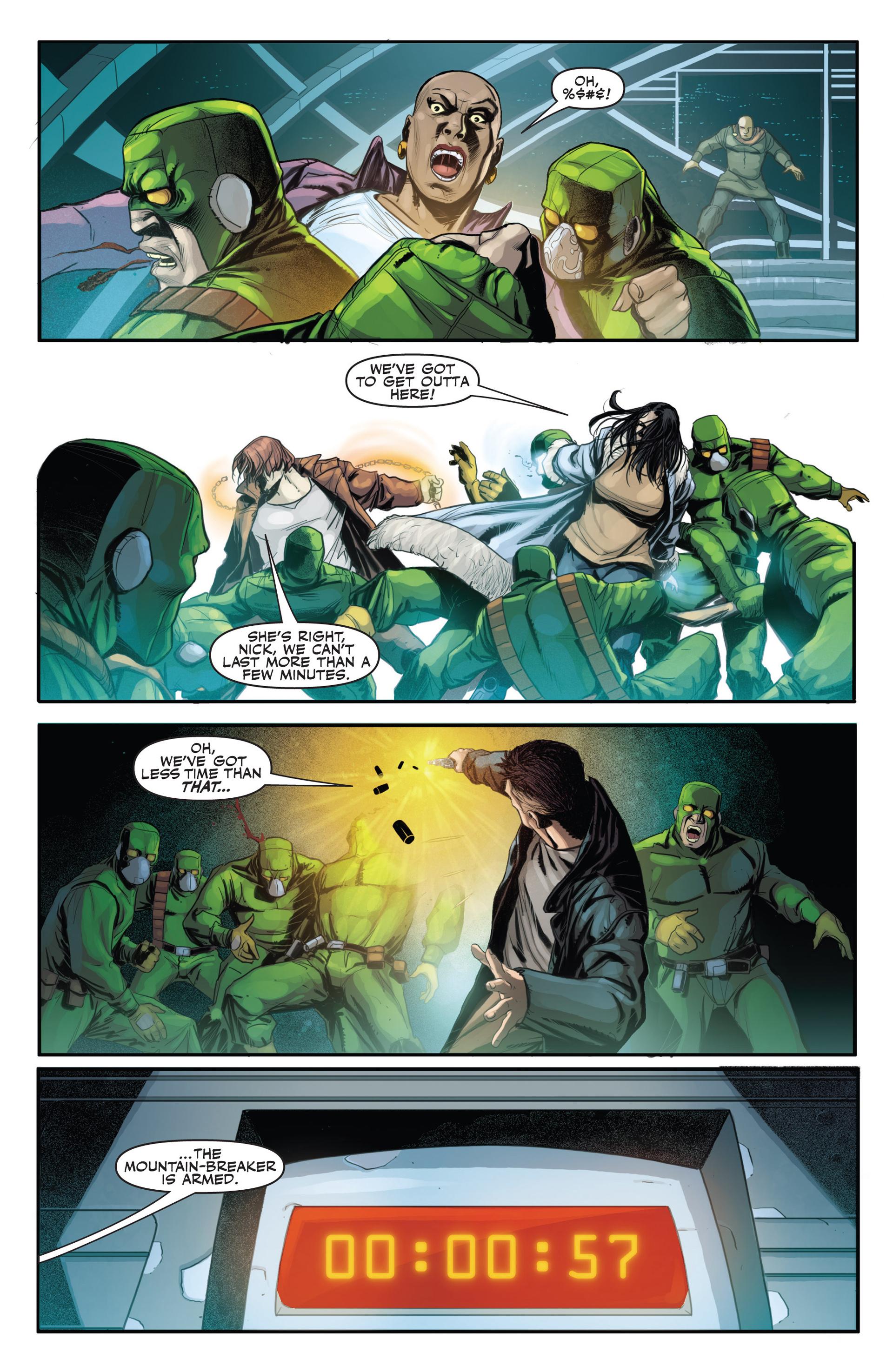 Read online Secret Warriors comic -  Issue #21 - 8