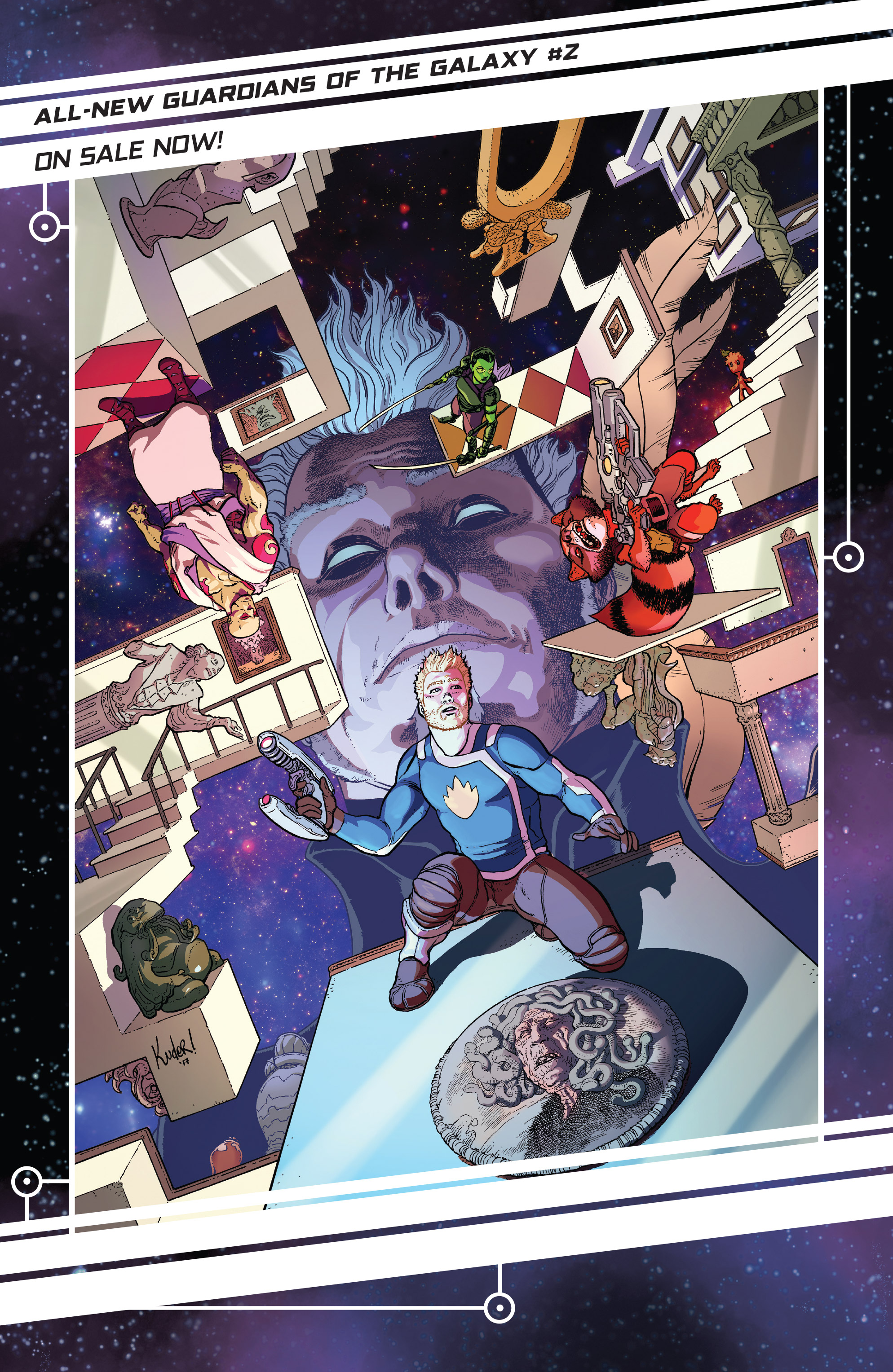 Read online Guardians of the Galaxy: Mother Entropy comic -  Issue #5 - 21
