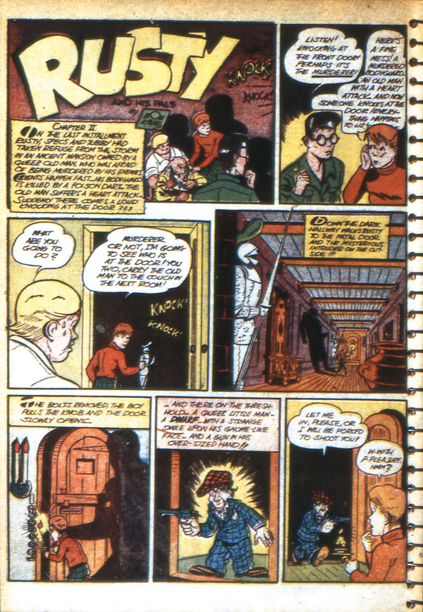 Read online Adventure Comics (1938) comic -  Issue #47 - 51