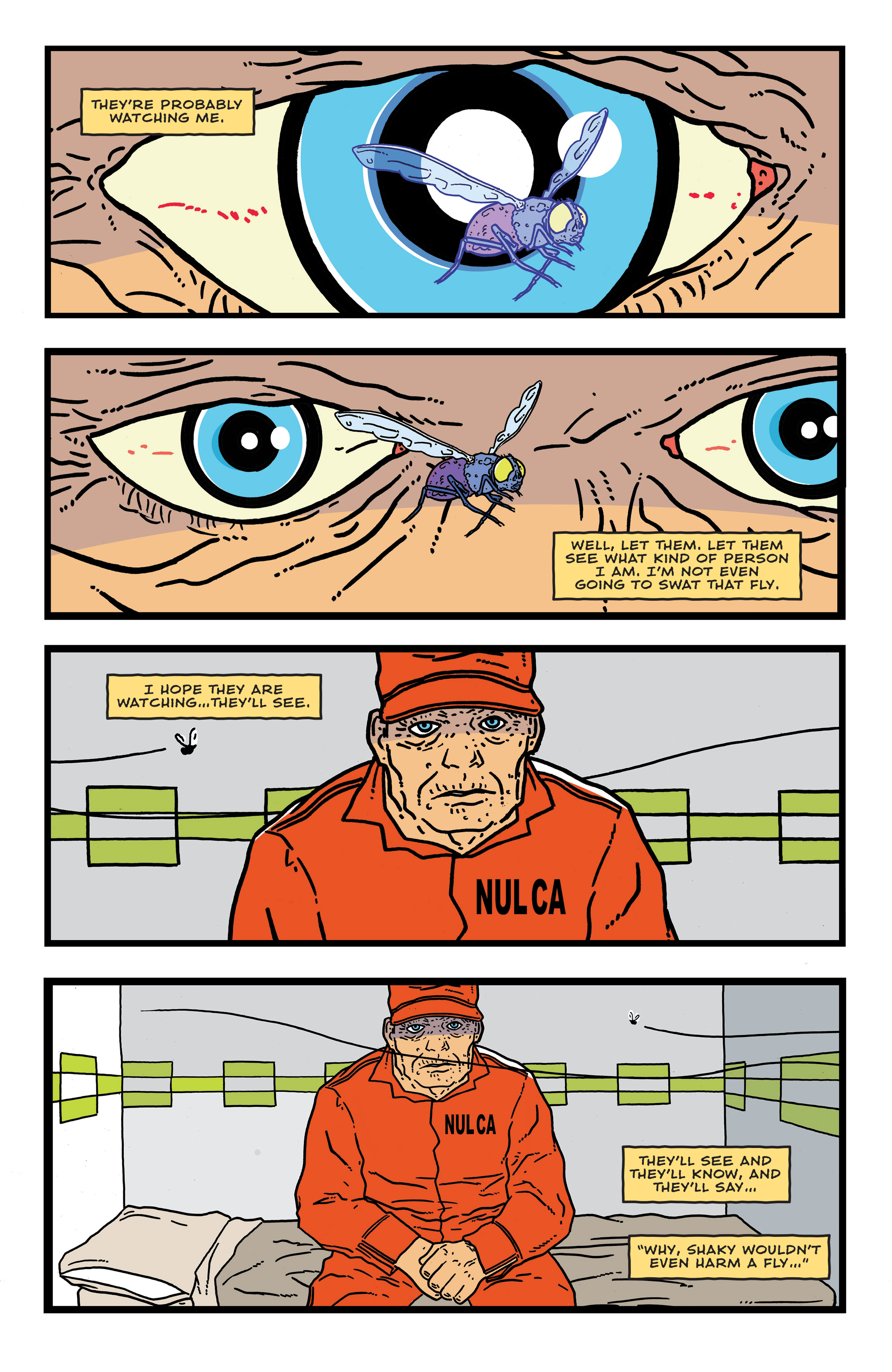 Read online Bulletproof Coffin: The Thousand Yard Stare comic -  Issue # Full - 28
