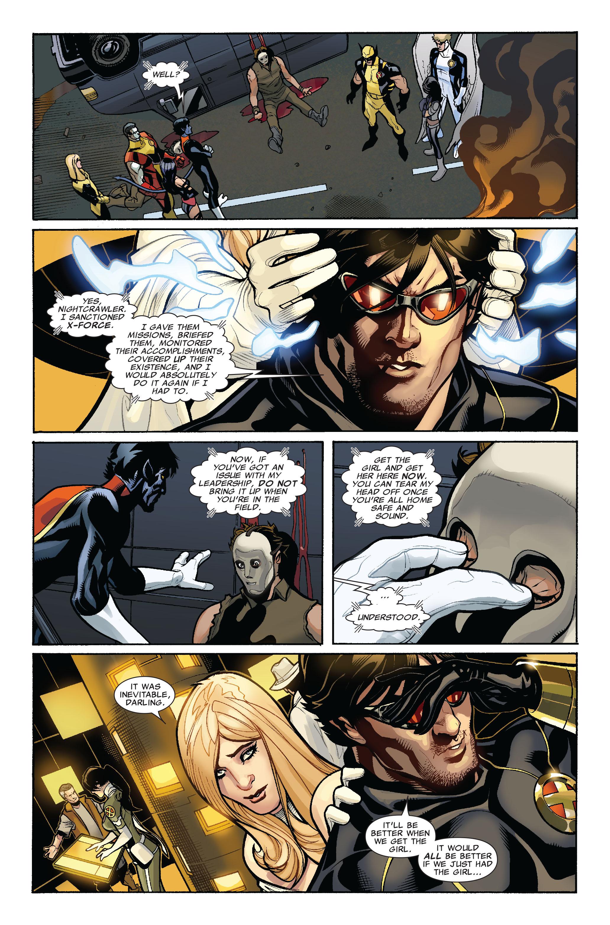 Read online Uncanny X-Men (1963) comic -  Issue #523 - 9