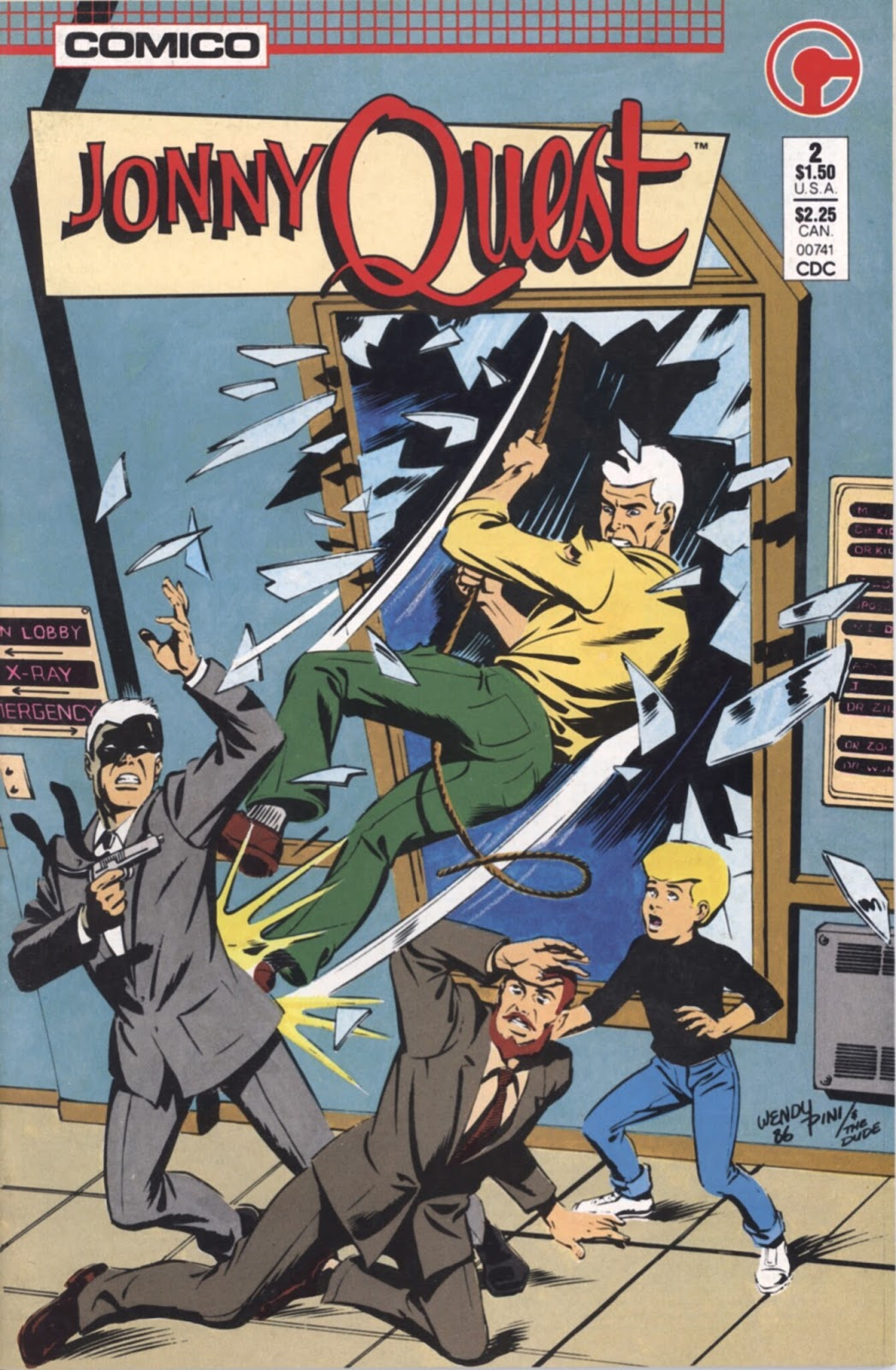 Jonny Quest (1986) issue 2 - Page 1