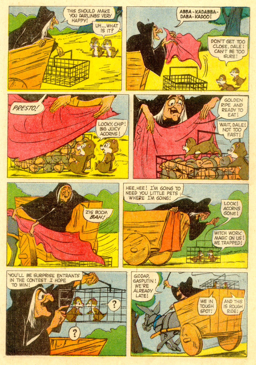 Walt Disney's Comics and Stories issue 223 - Page 21