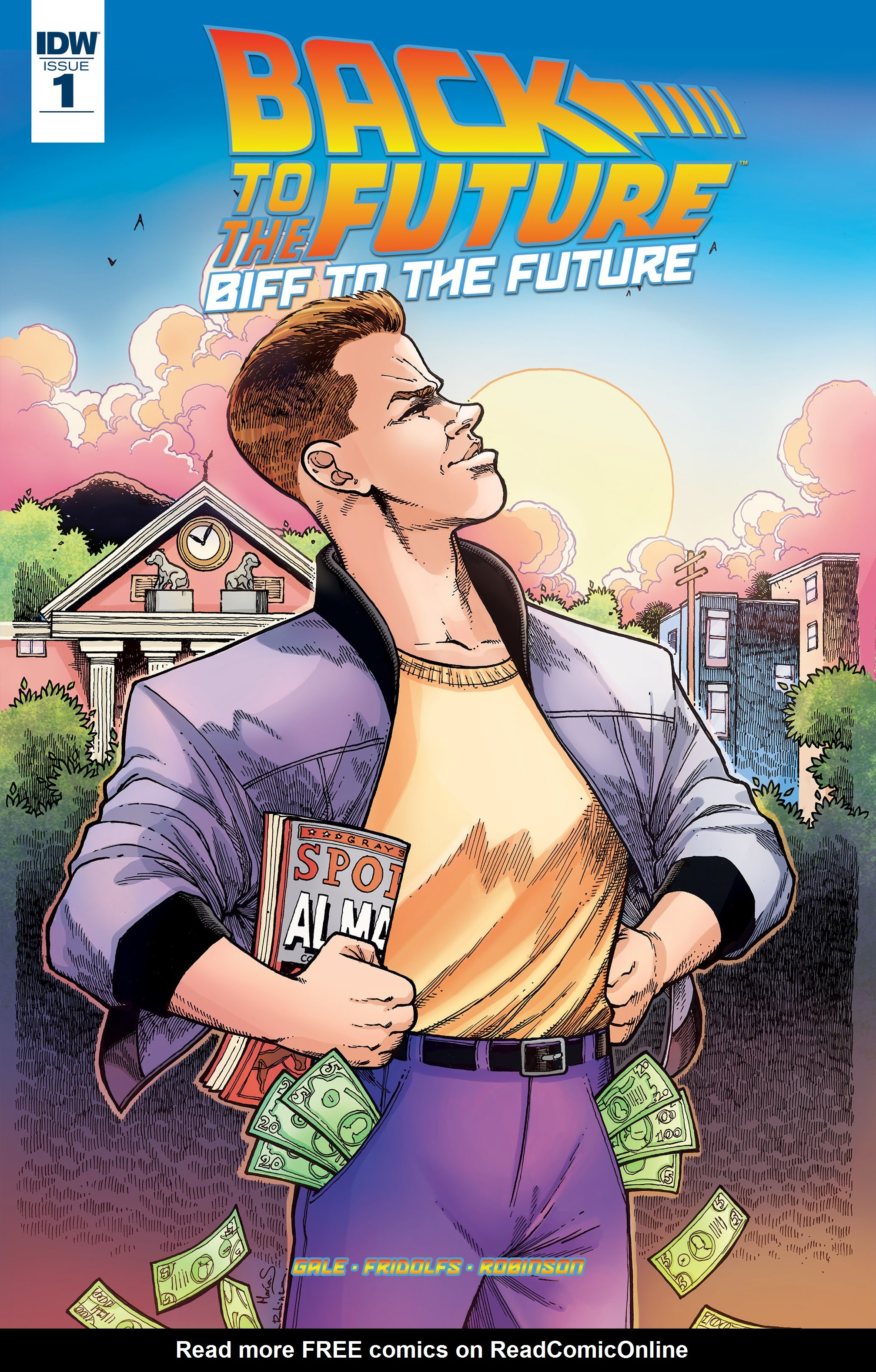 Read online Back to the Future: Biff to the Future comic -  Issue #1 - 1