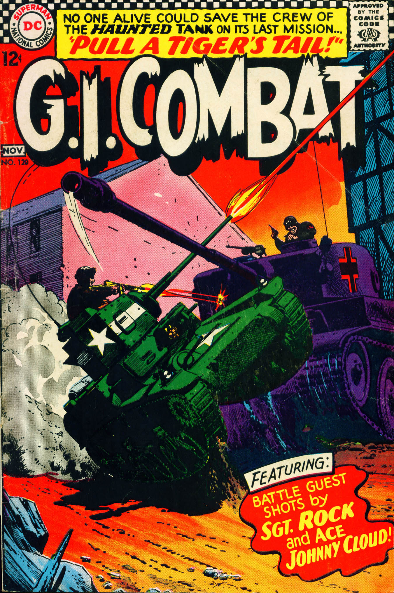 G.I. Combat (1952) 120 Page 1