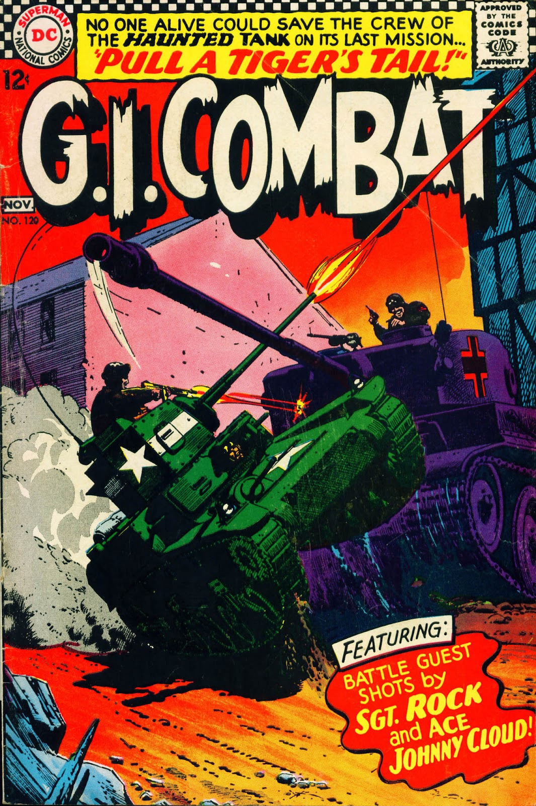 G.I. Combat (1952) issue 120 - Page 1