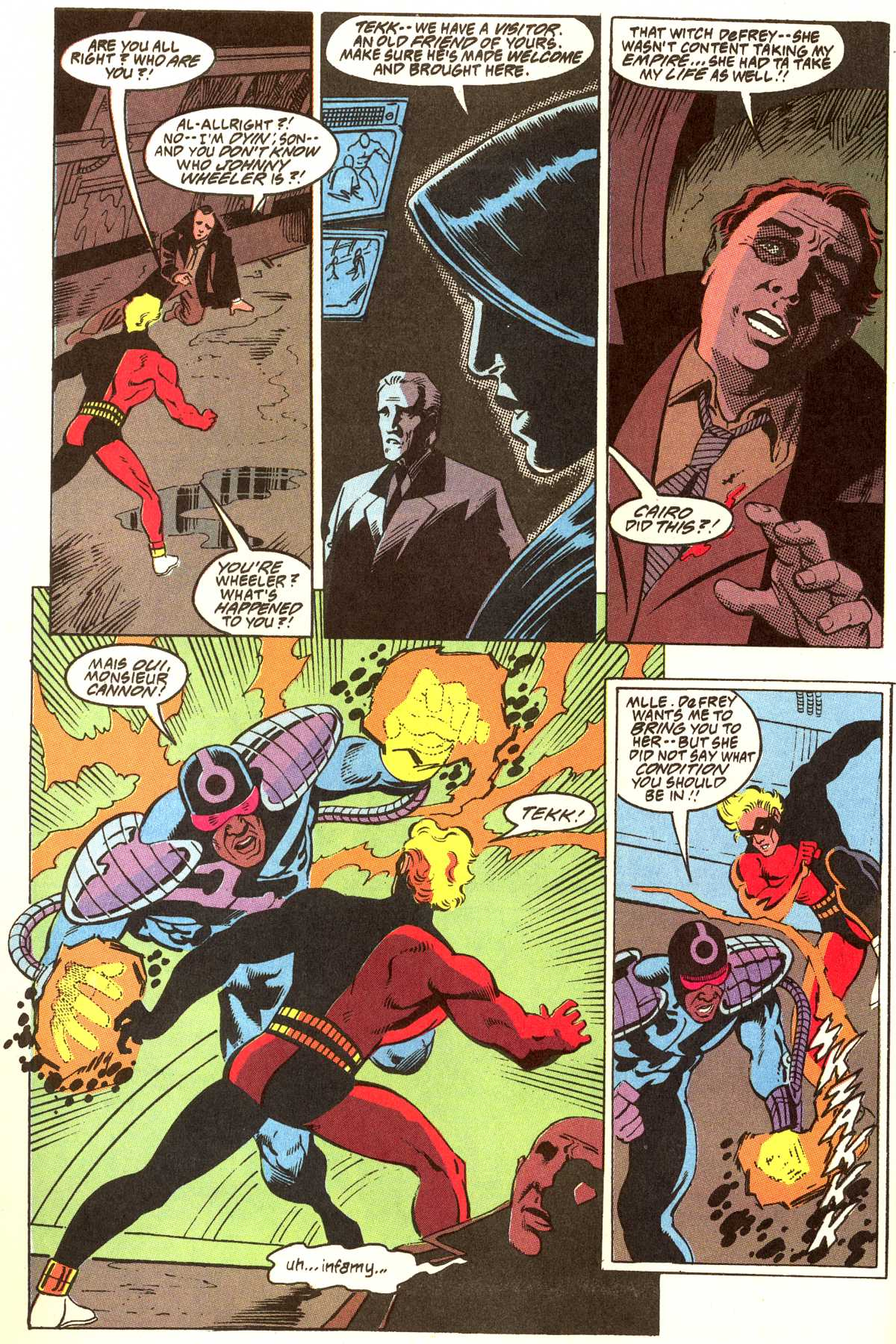 Read online Peter Cannon--Thunderbolt (1992) comic -  Issue #12 - 15