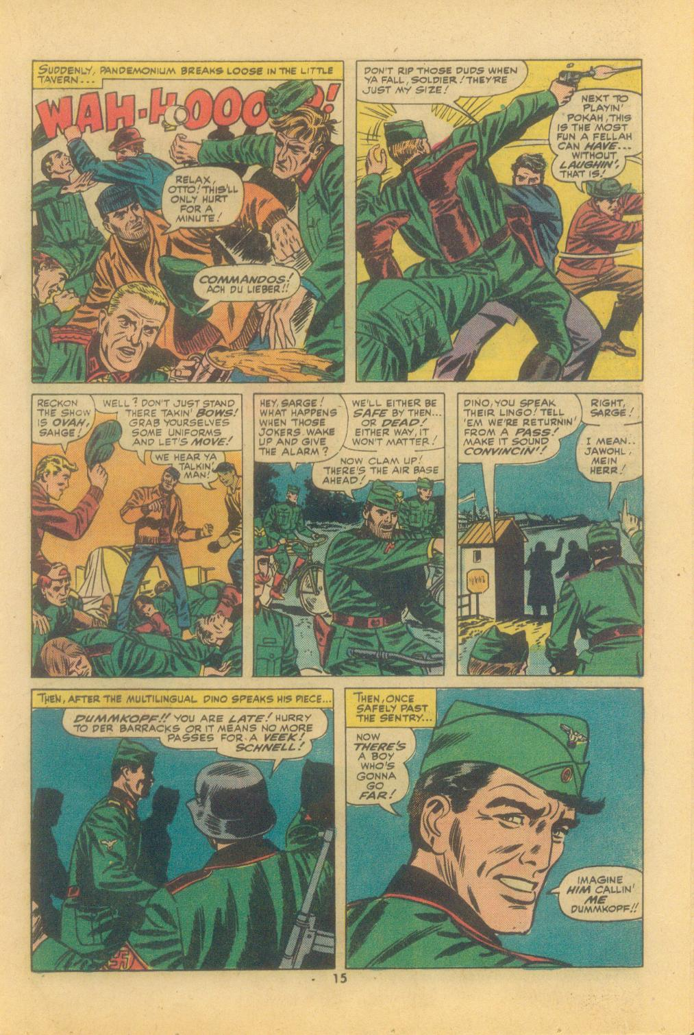 Read online Sgt. Fury comic -  Issue #121 - 17