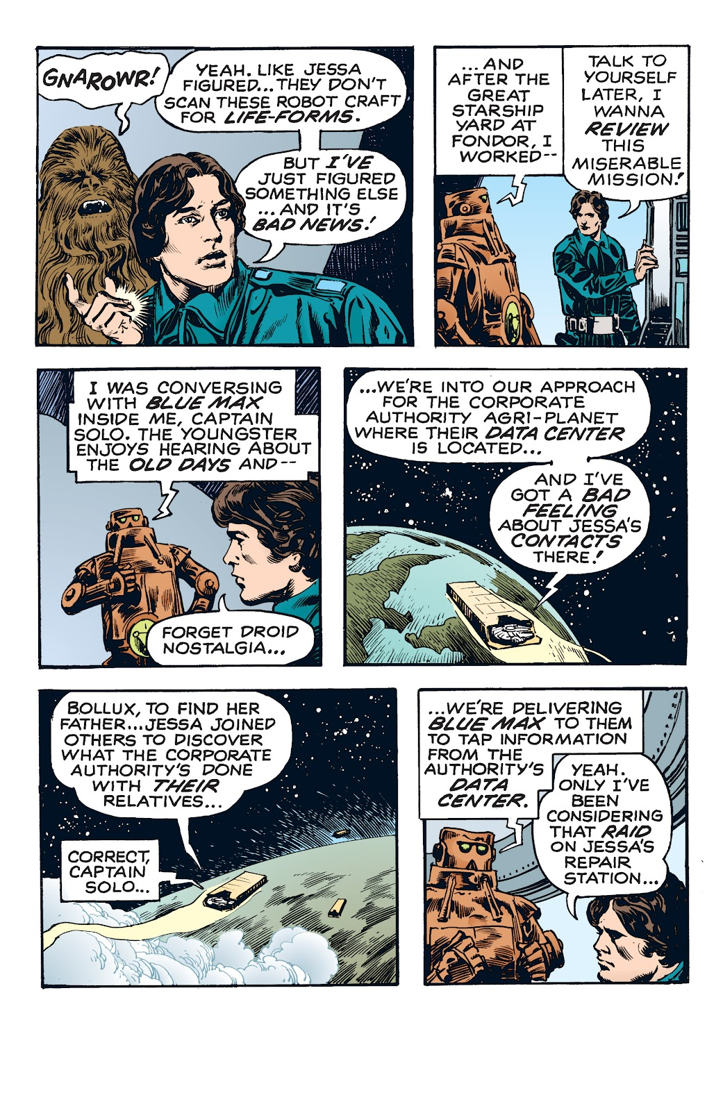Read online Star Wars Legends: The Newspaper Strips - Epic Collection comic -  Issue # TPB (Part 4) - 21