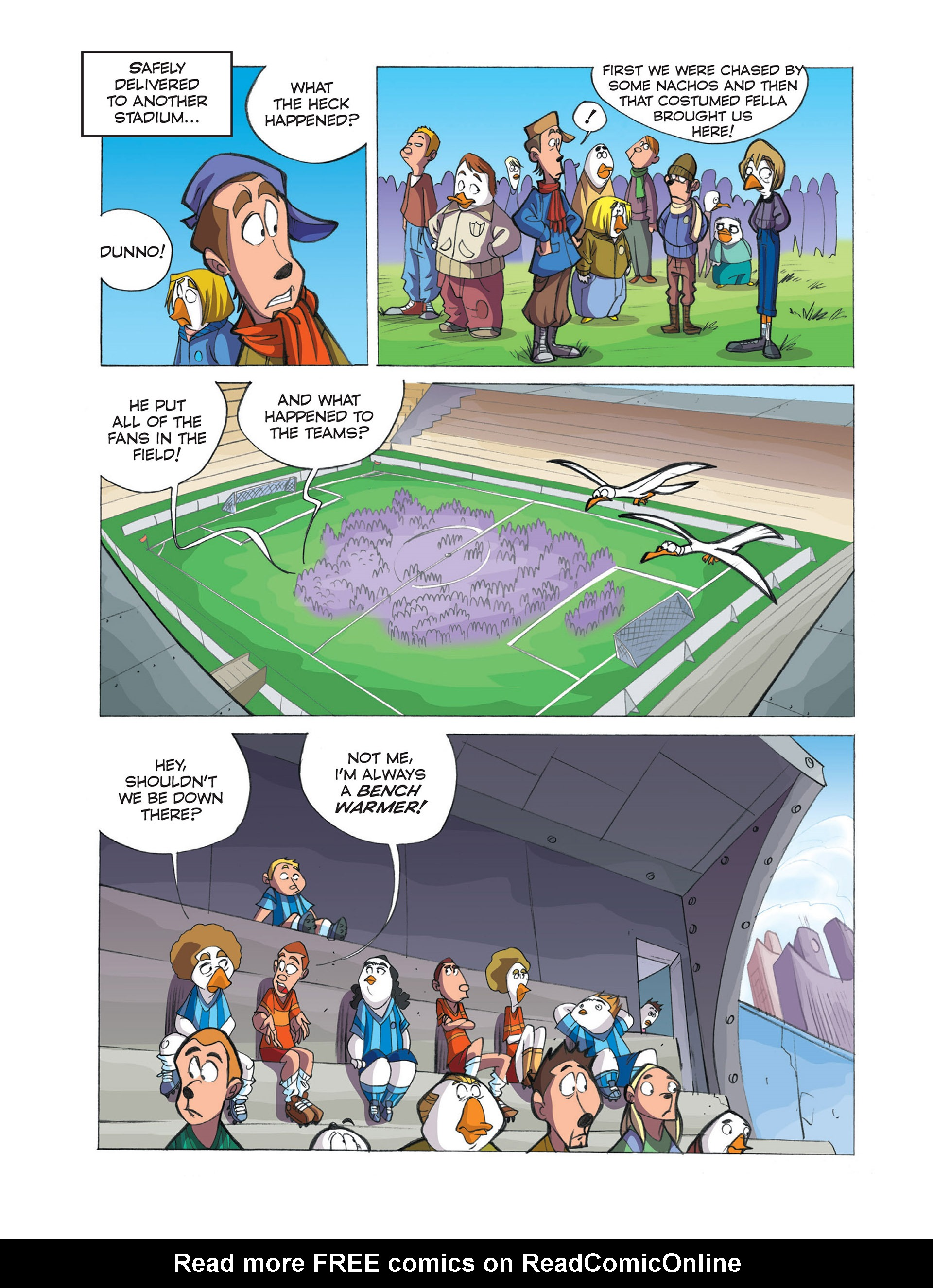 Read online Ultraheroes comic -  Issue #2 - 12