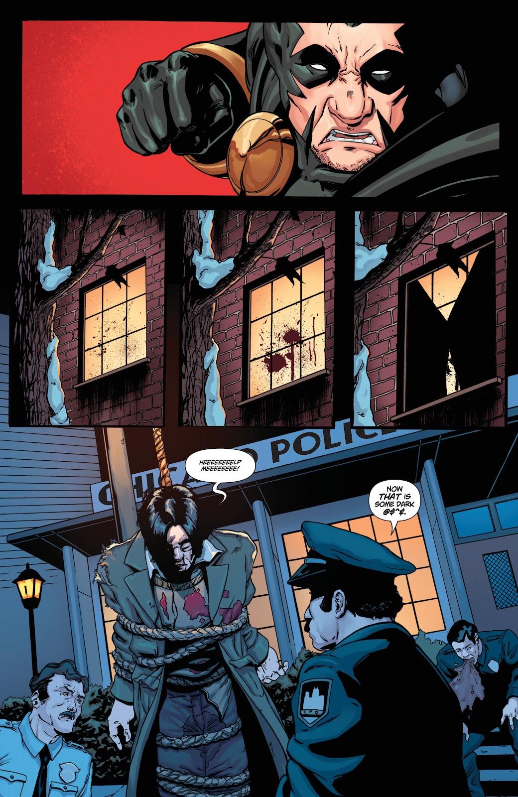 Read online Black Terror (2019) comic -  Issue # Full - 20