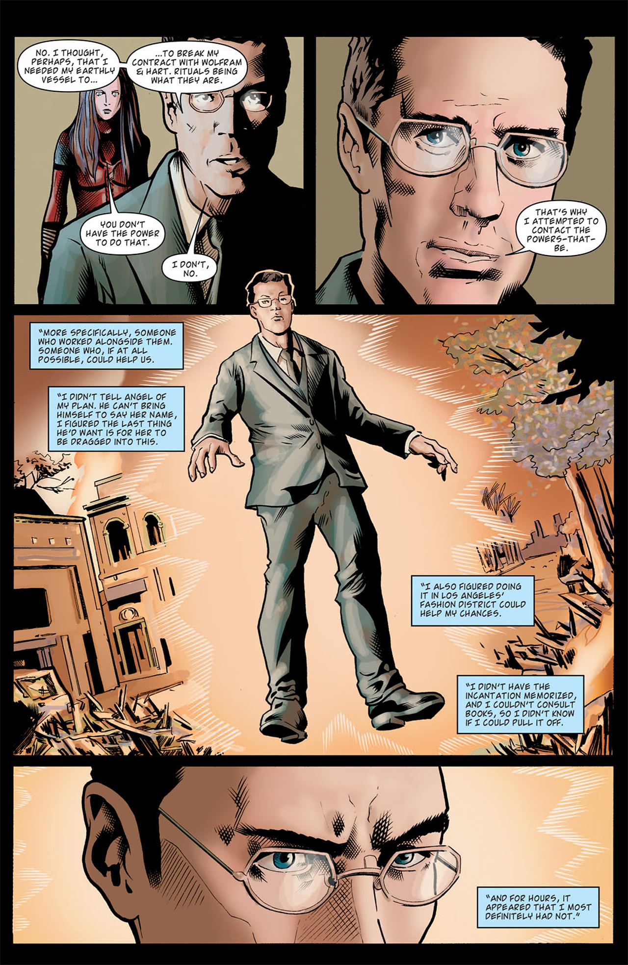 Read online Angel: After The Fall comic -  Issue #9 - 22