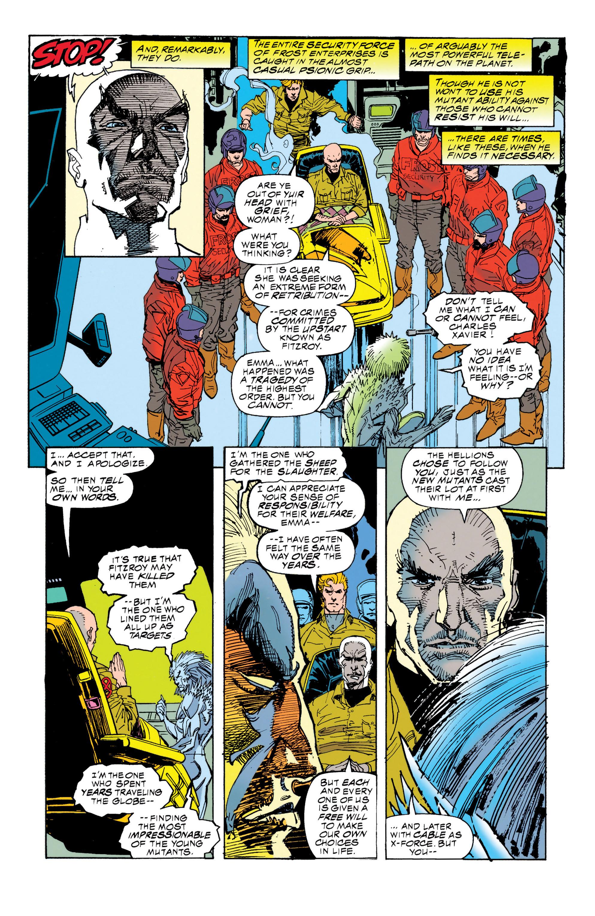 Read online Uncanny X-Men (1963) comic -  Issue #314 - 20