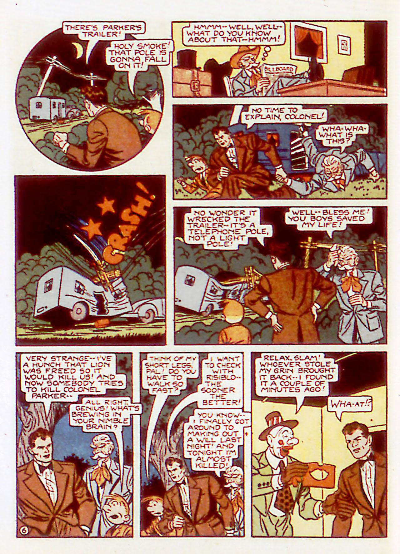 Read online Detective Comics (1937) comic -  Issue #71 - 64
