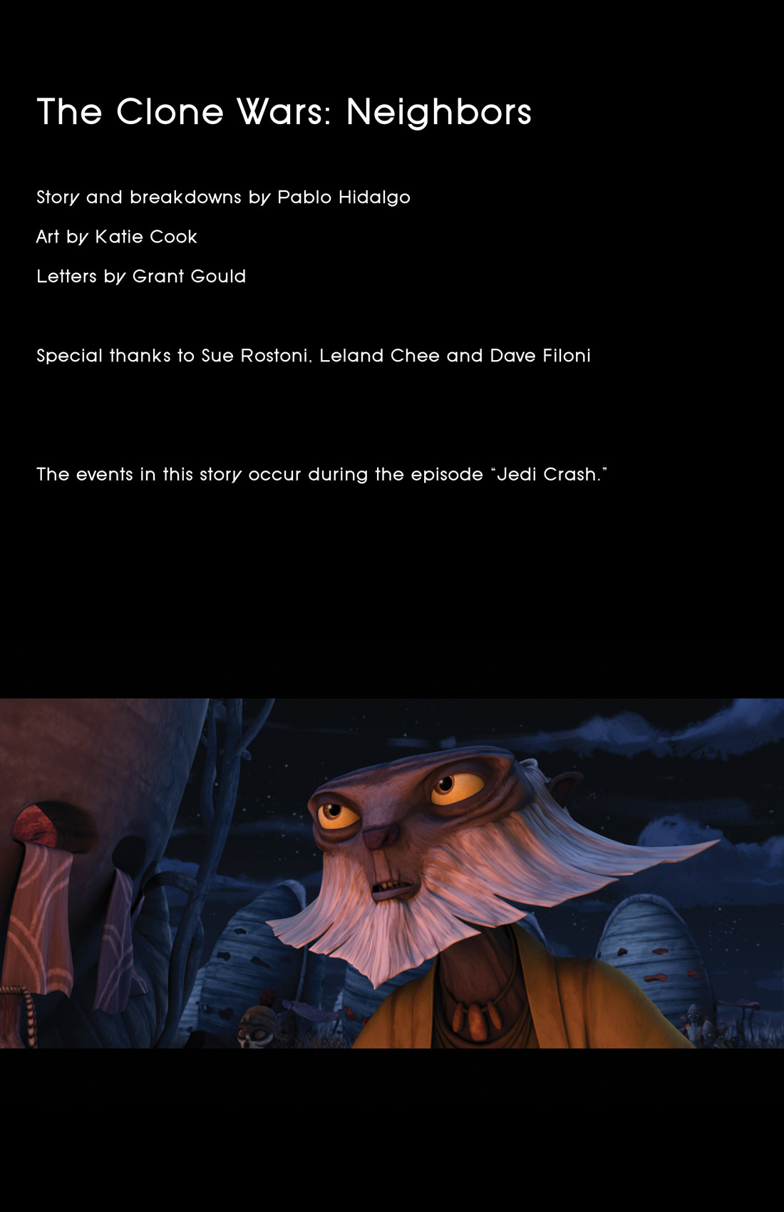 Read online Star Wars: Tales From The Clone Wars comic -  Issue # TPB - 96