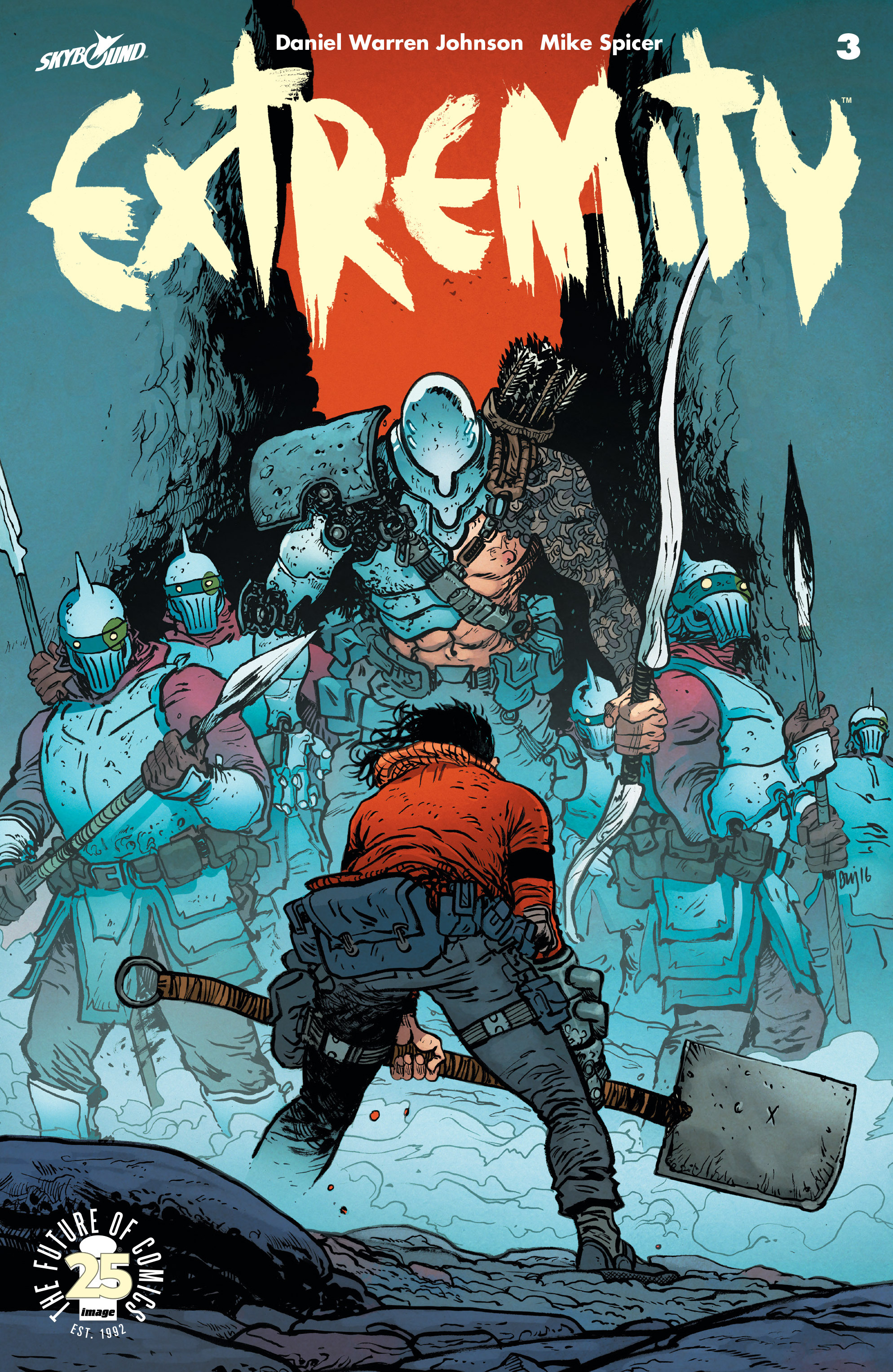 Read online Extremity comic -  Issue #3 - 1