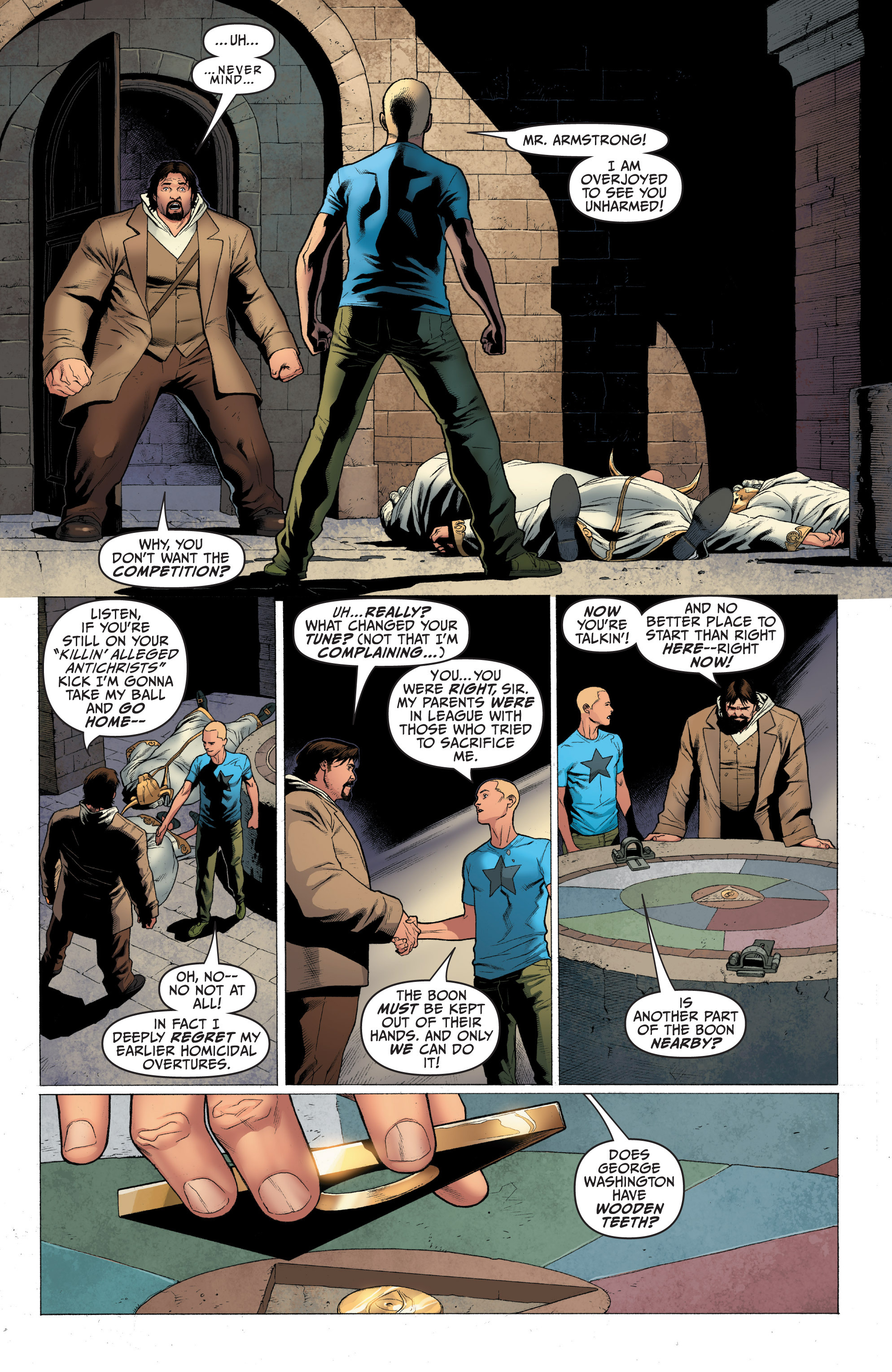 Read online Archer and Armstrong comic -  Issue #Archer and Armstrong _TPB 1 - 41
