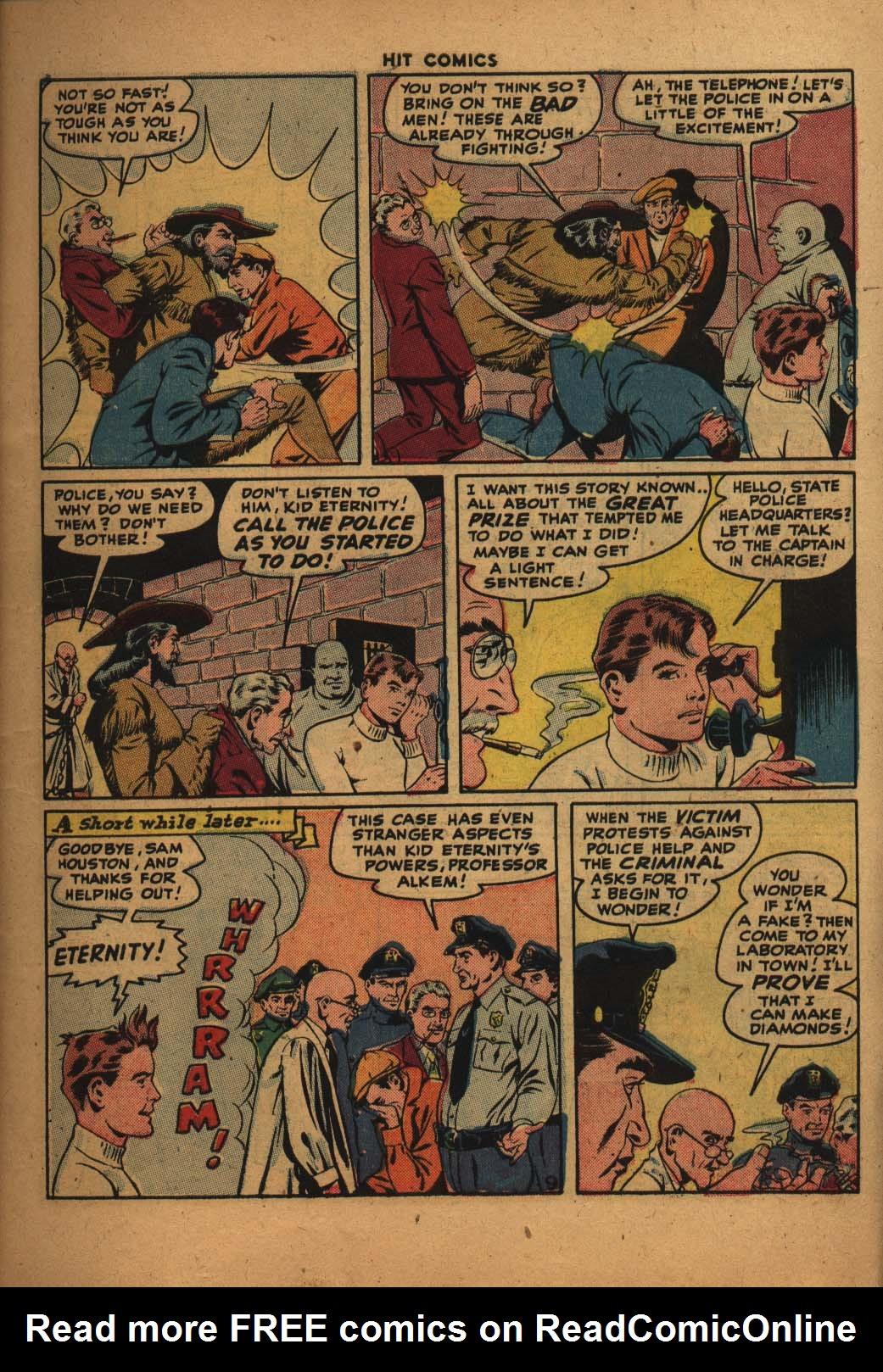 Read online Hit Comics comic -  Issue #47 - 10
