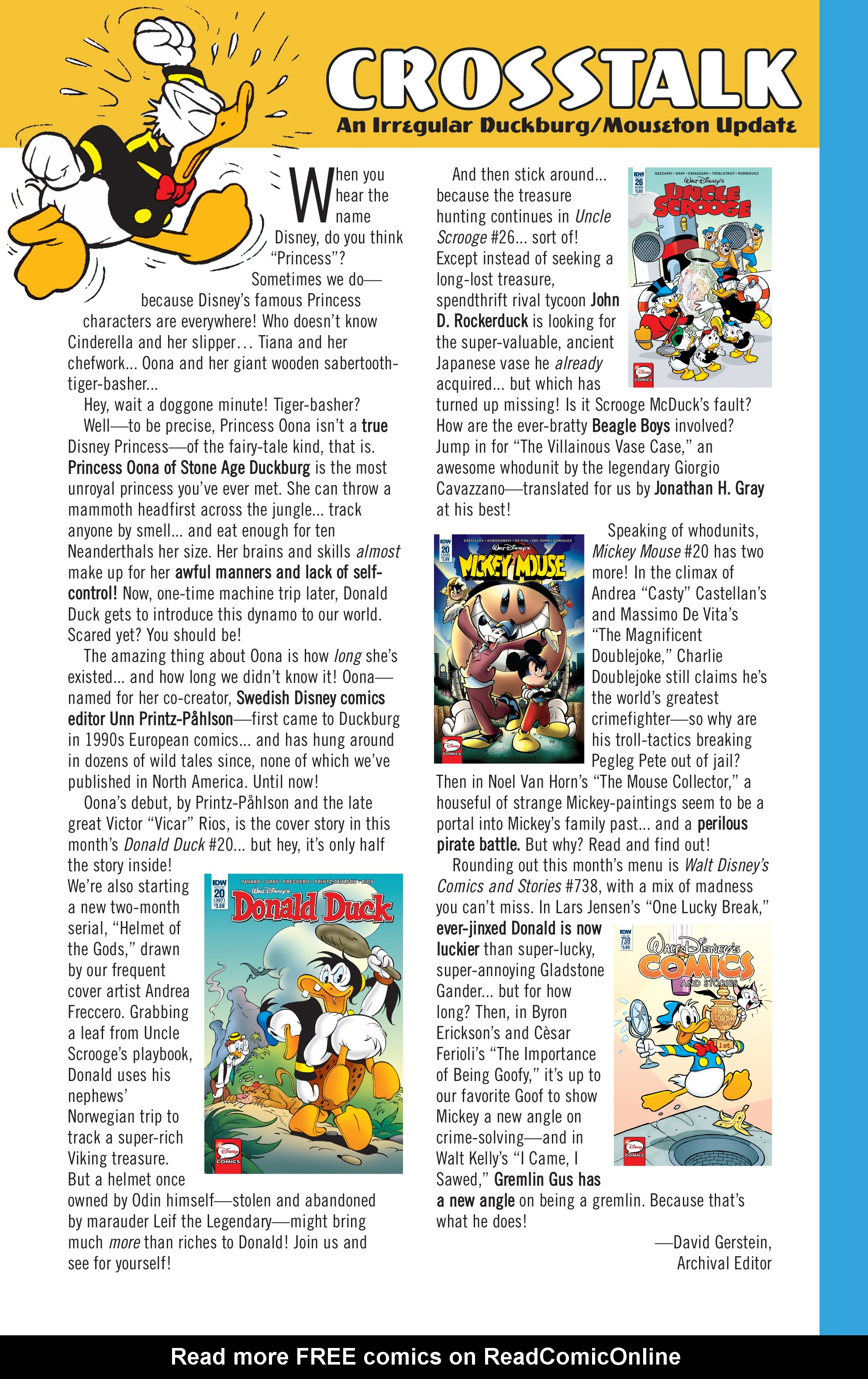 Read online Mickey Mouse (2015) comic -  Issue #20 - 35