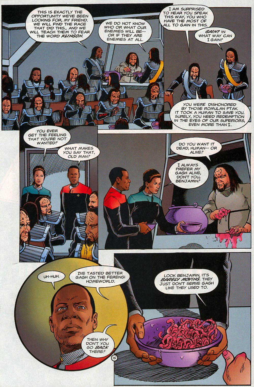 Read online Star Trek: Deep Space Nine - Lightstorm comic -  Issue # Full - 15
