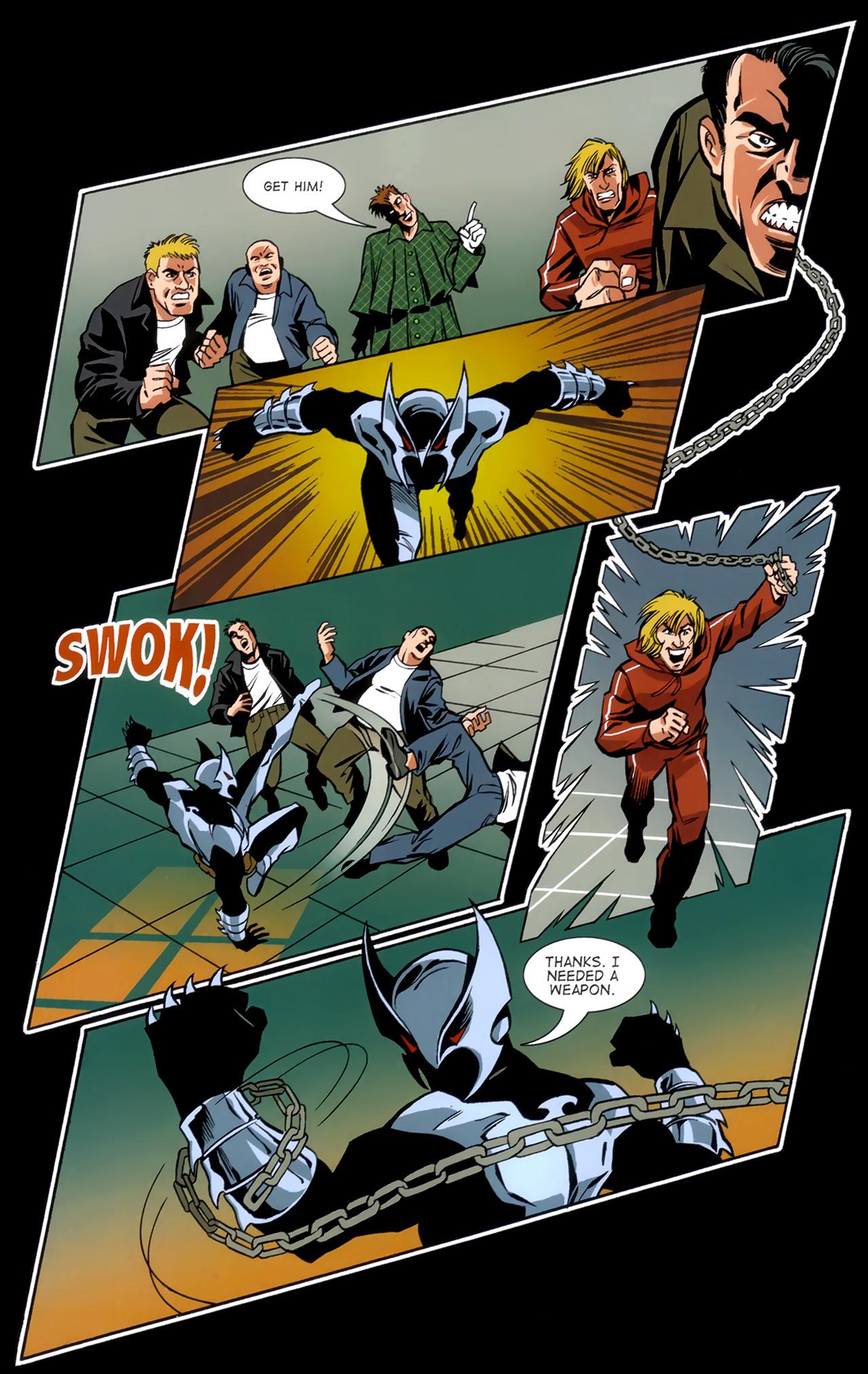 Read online ShadowHawk (2010) comic -  Issue #1 - 28