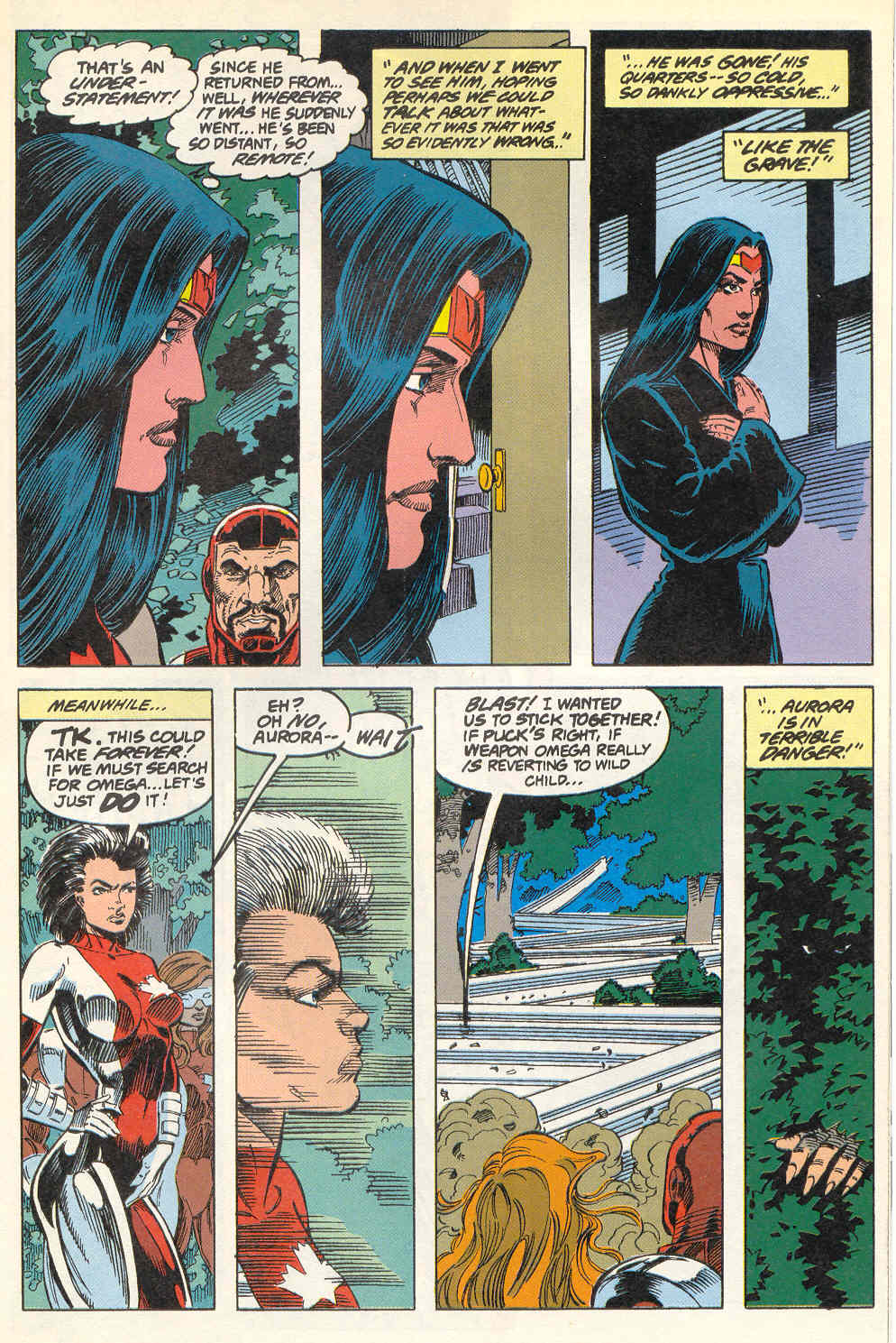 Read online Alpha Flight (1983) comic -  Issue #115 - 8