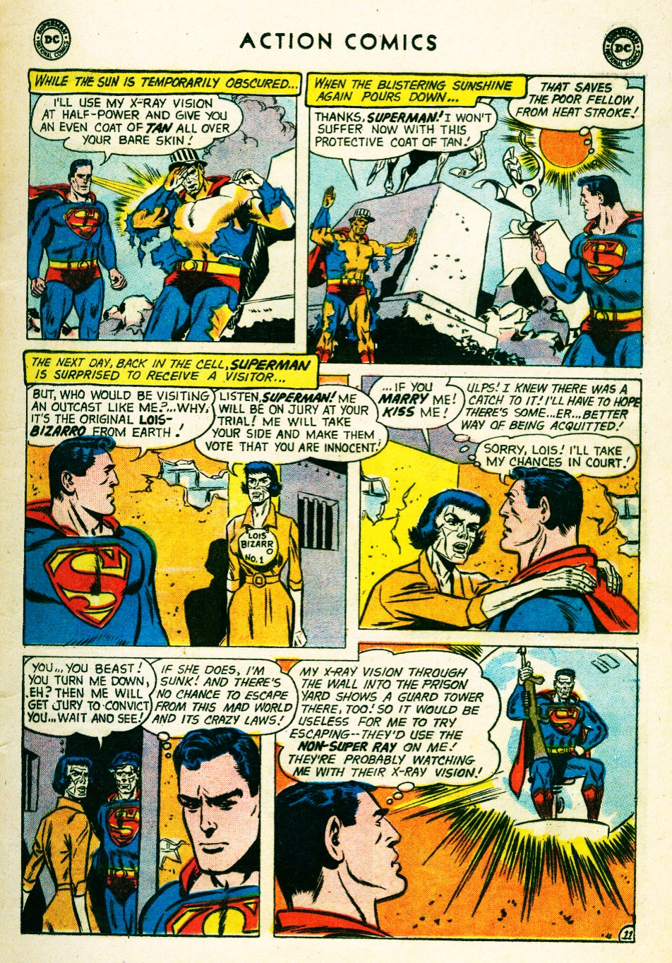 Read online Action Comics (1938) comic -  Issue #263 - 13