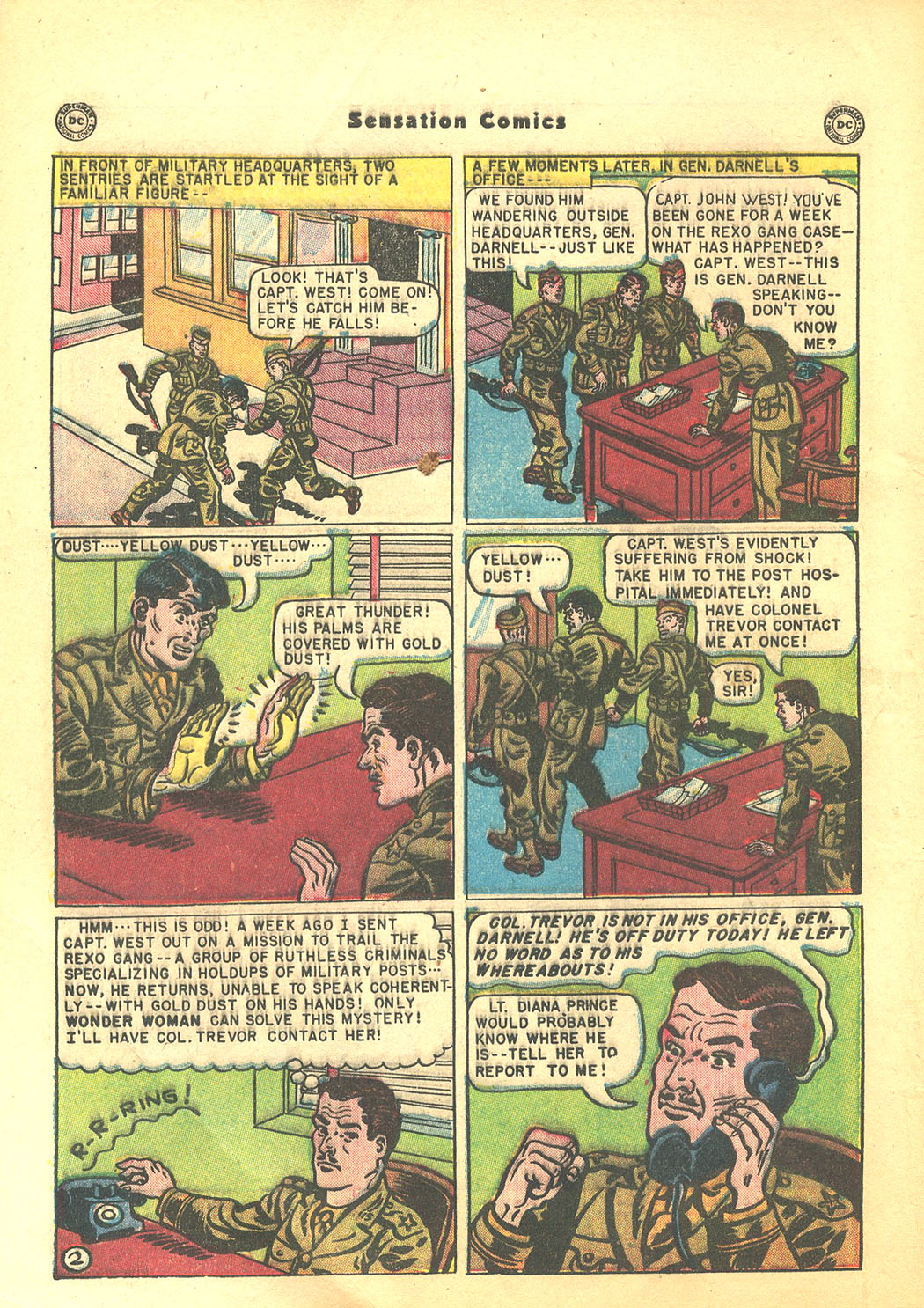 Read online Sensation (Mystery) Comics comic -  Issue #94 - 4